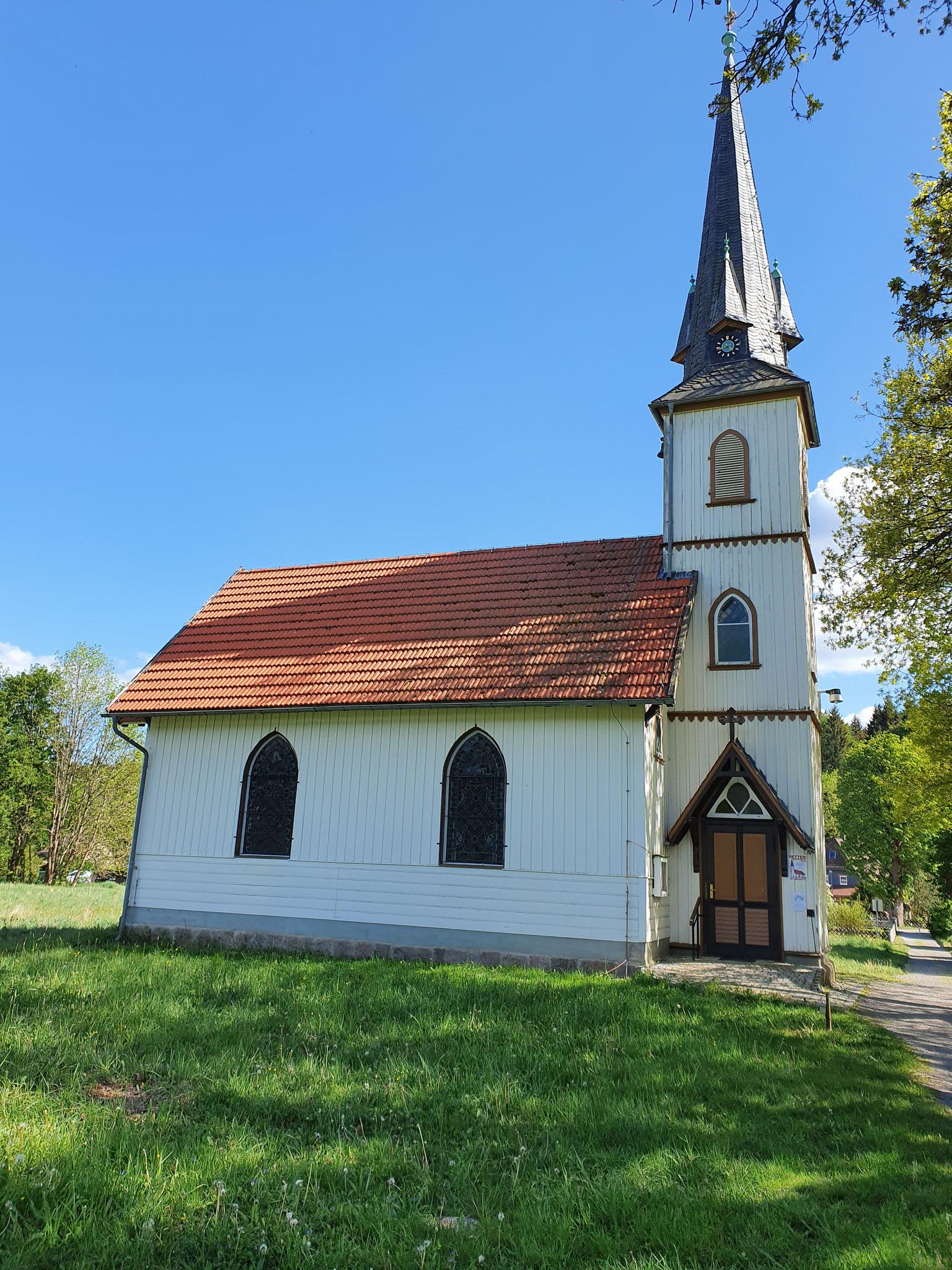 kleinste Holzkirche Deutschland in Elend