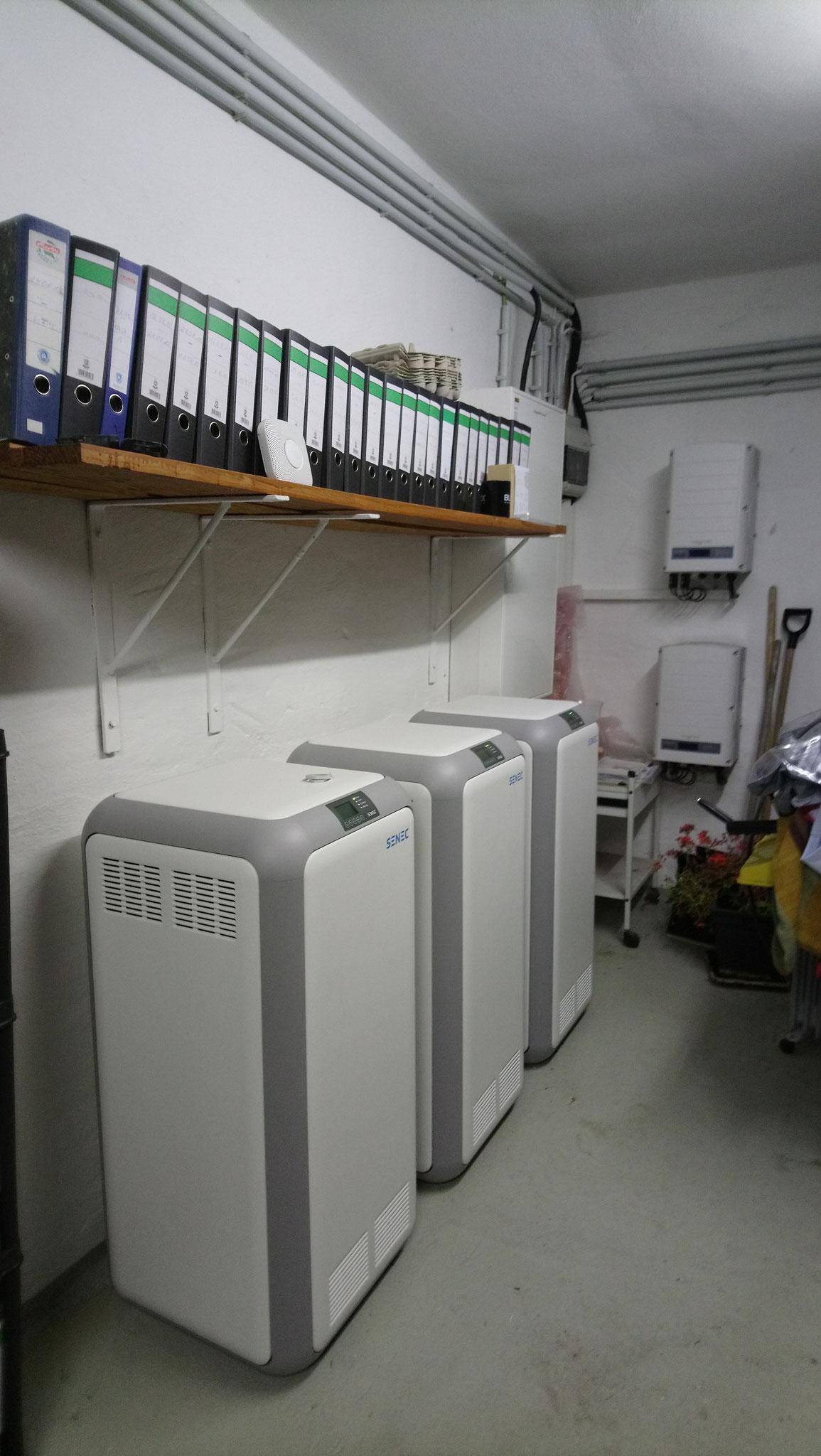 3x 10 kWh Li Speicher mit SENEC.CLOUD 100% Unabhängigkeit in Bützow