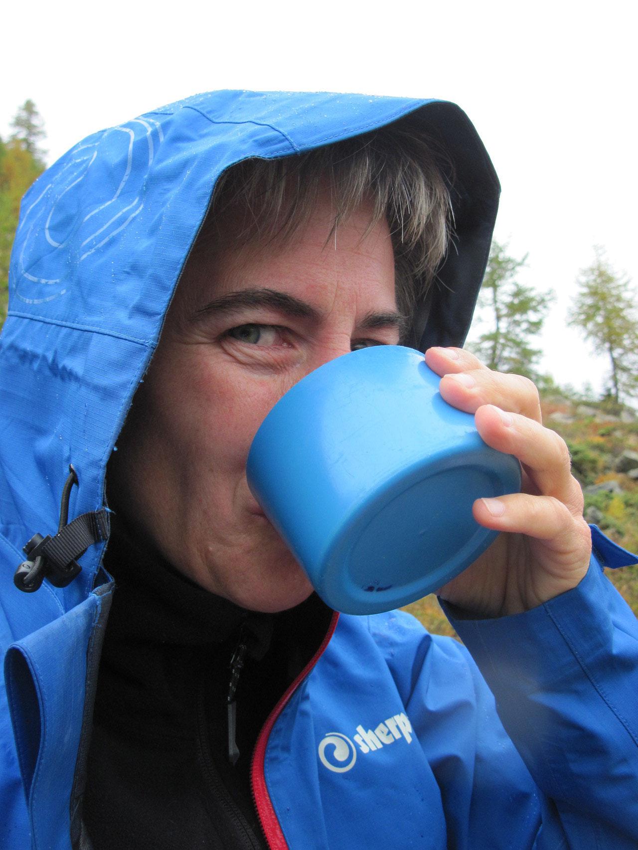 Es ist kühl geworden...zum Glück gibt es heissen Tee!