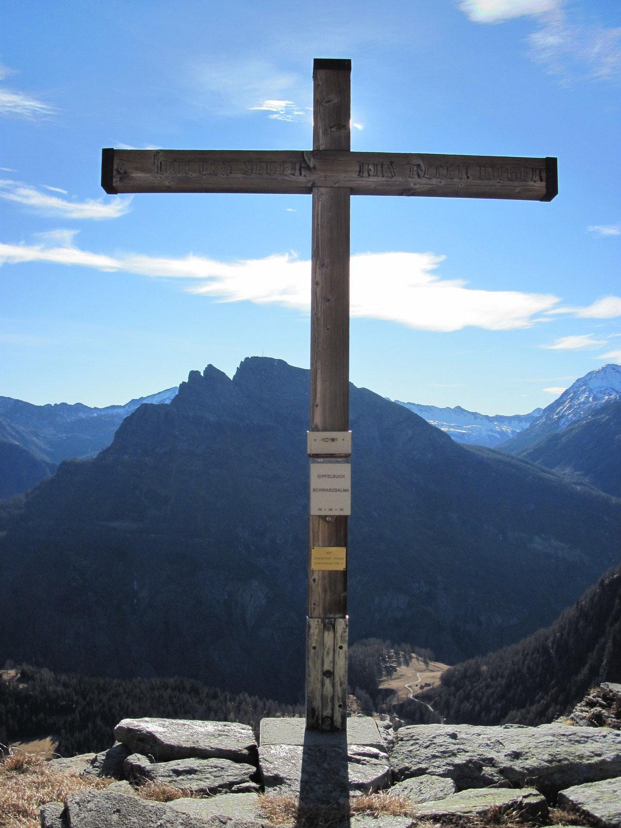 Gipfelkreuz Schwarzi Balma