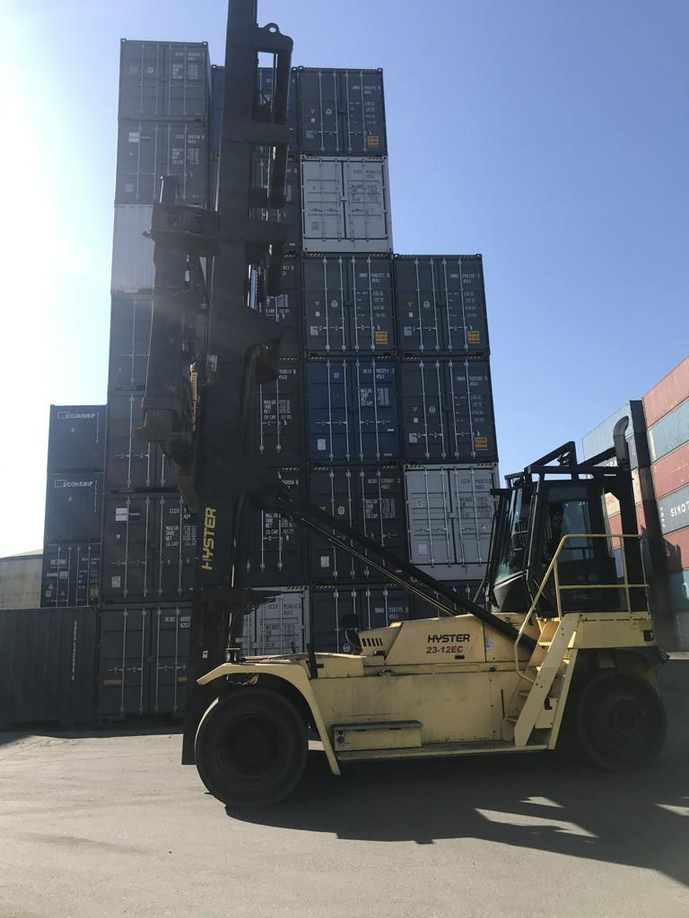 chariot porte-container Hyster H23XM-12EC 2016