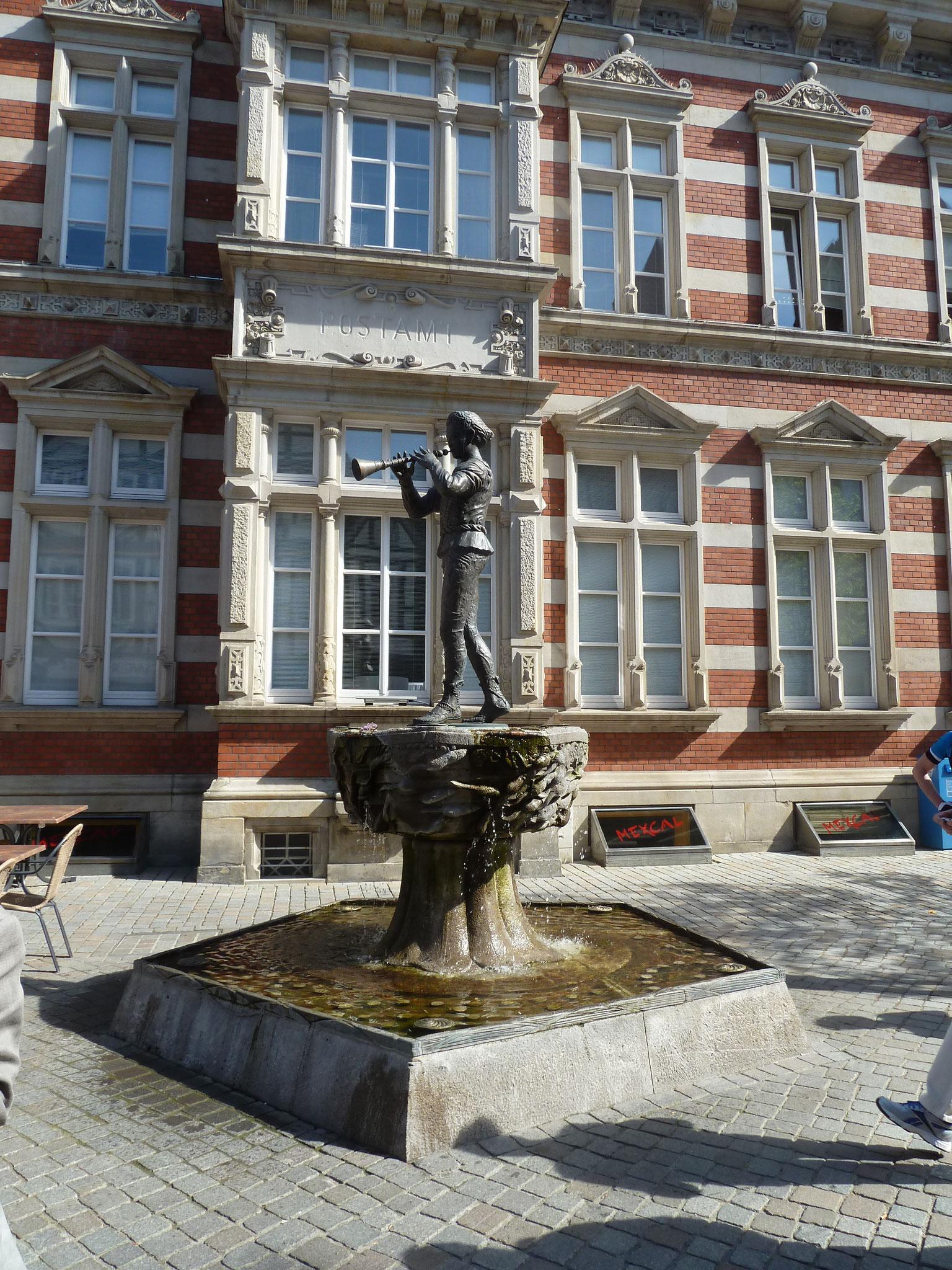 Der Rattenfängerbrunnen