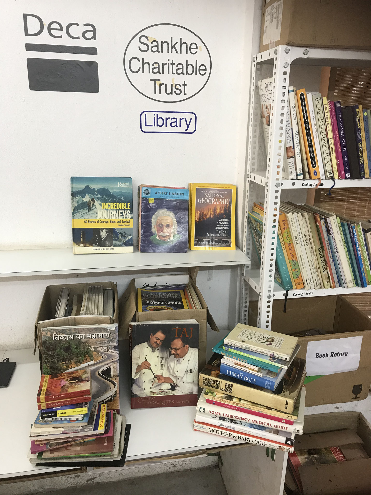 FREE Books being sent to sister library in Patna