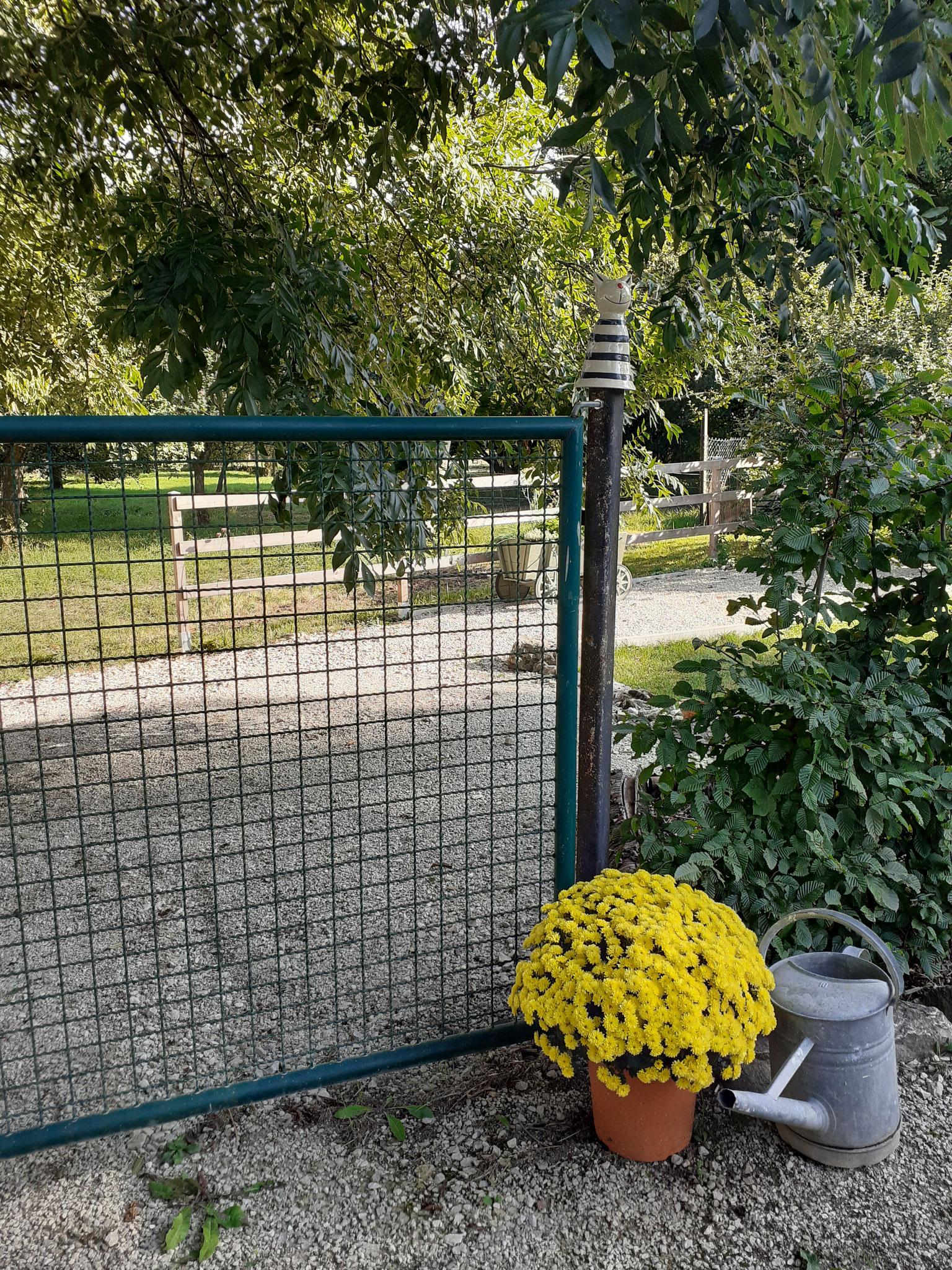 Eingangstür zum Garten