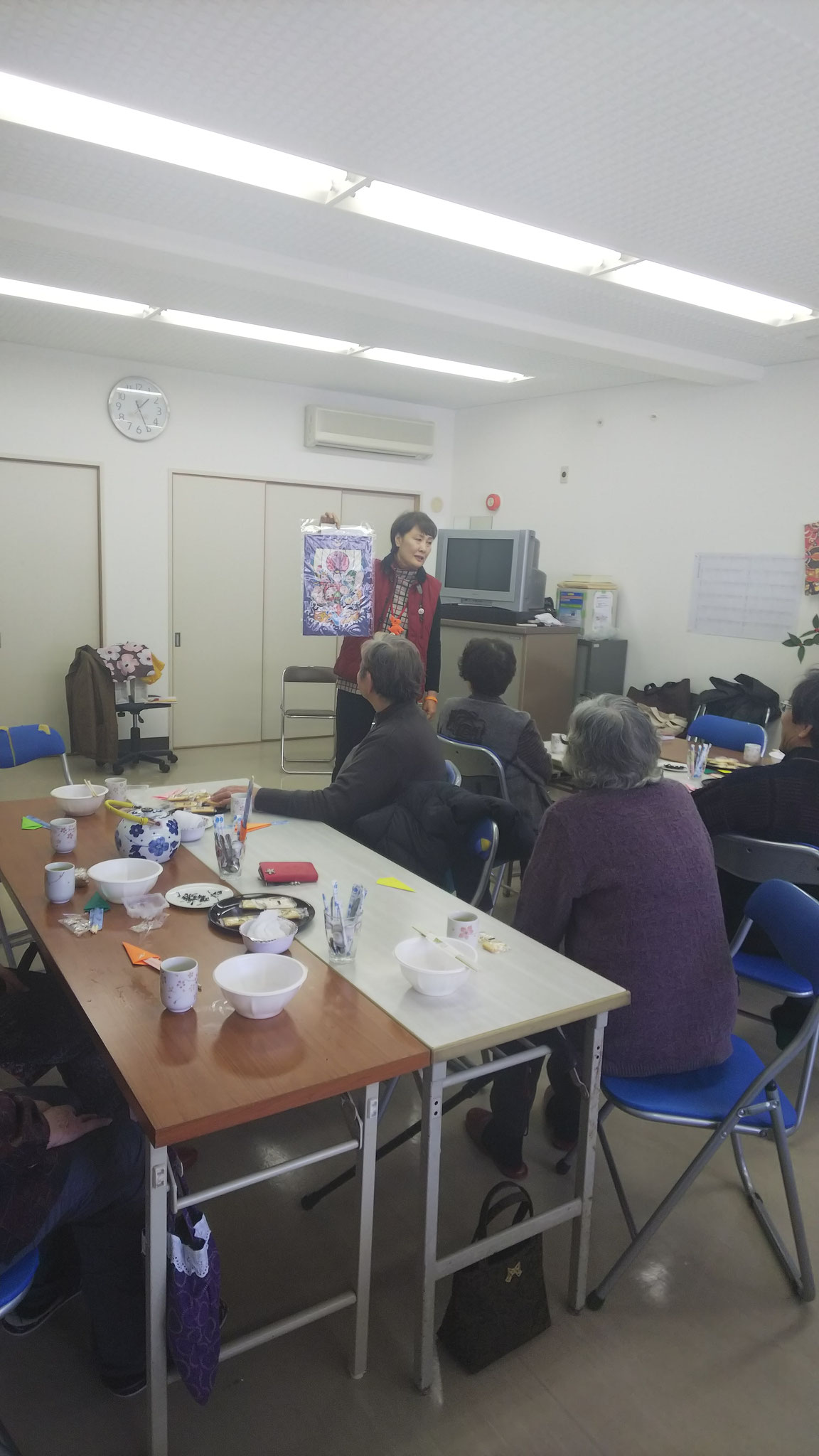 2019/01/07 富田林市緑ヶ丘福祉委員会 ティーサロンにて お話