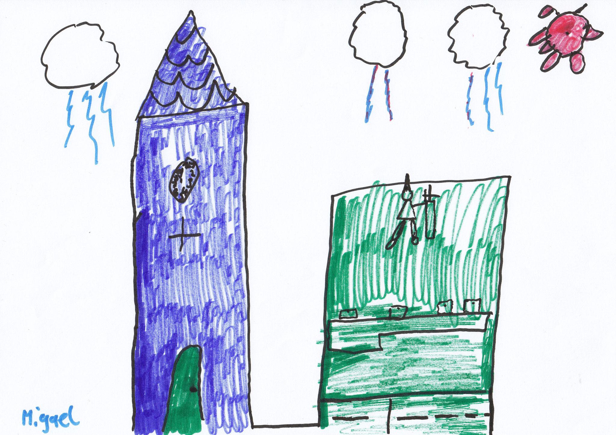Wasser und Pflanzen - Kirche