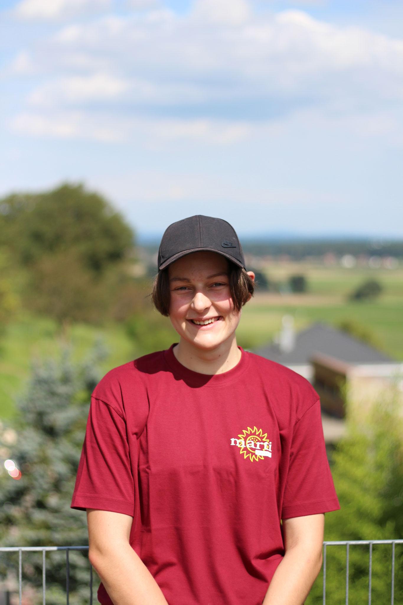 Fabienne Büttikofer 1. Lehrjahr Landschaftsgärtnerin EFZ