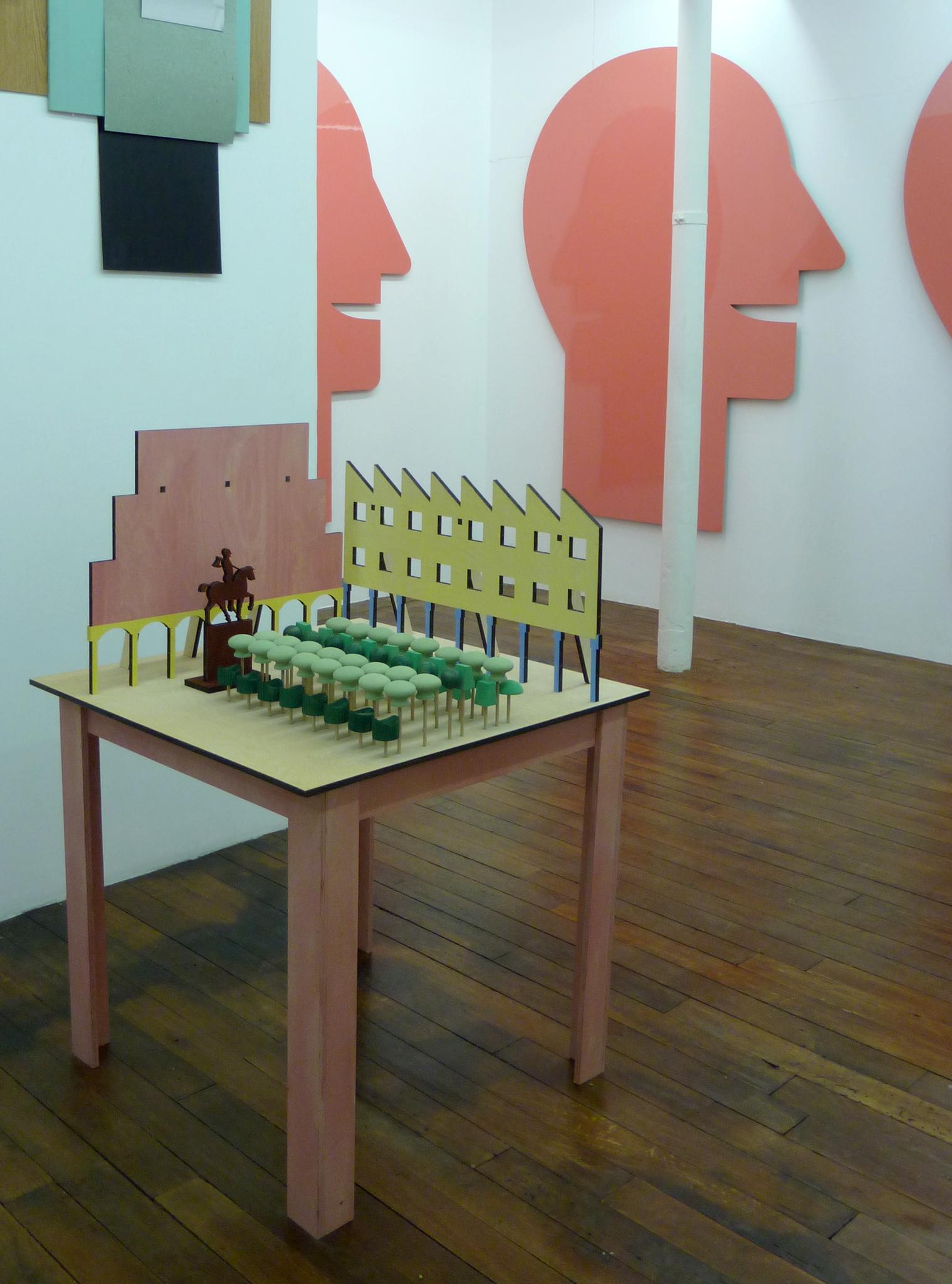 Ausstellung Galerie Marion Meyer Contemporain, Paris - Foto Renatae Ettl