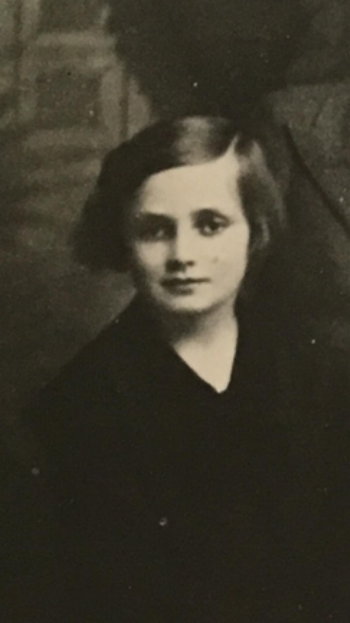 Hilde Geringer Tochter von Franz und Hermine ausgewandert nach USA