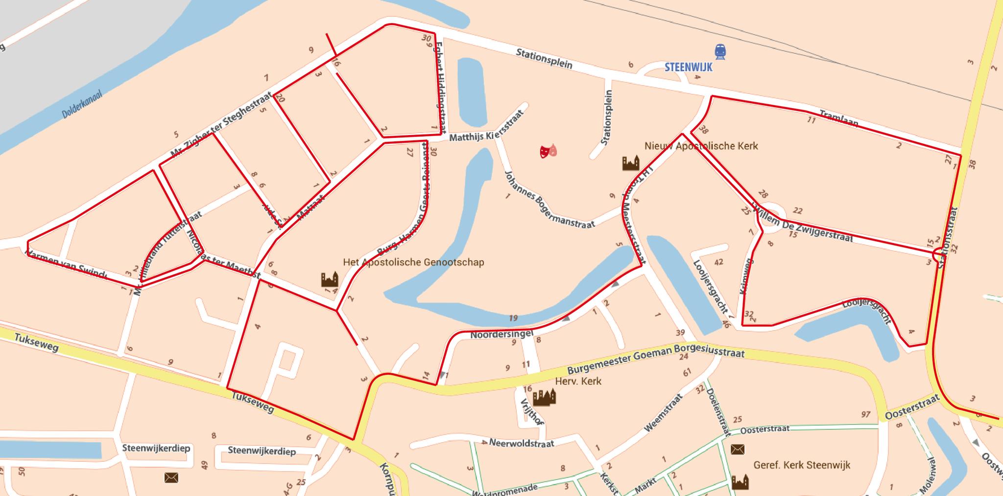 Stationsstraat en Torenlanden