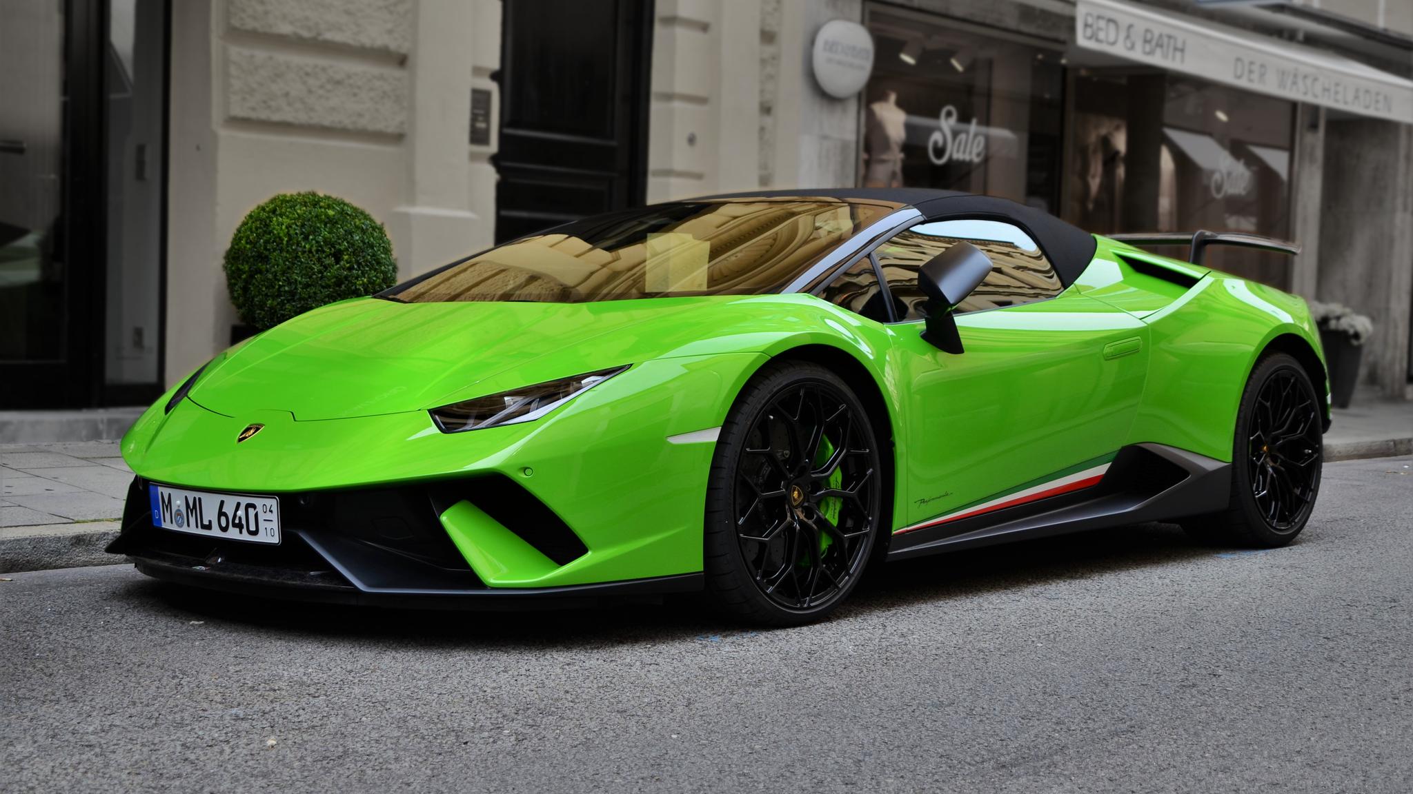 Lamborghini Huracan Performante Spyder - M-ML-640