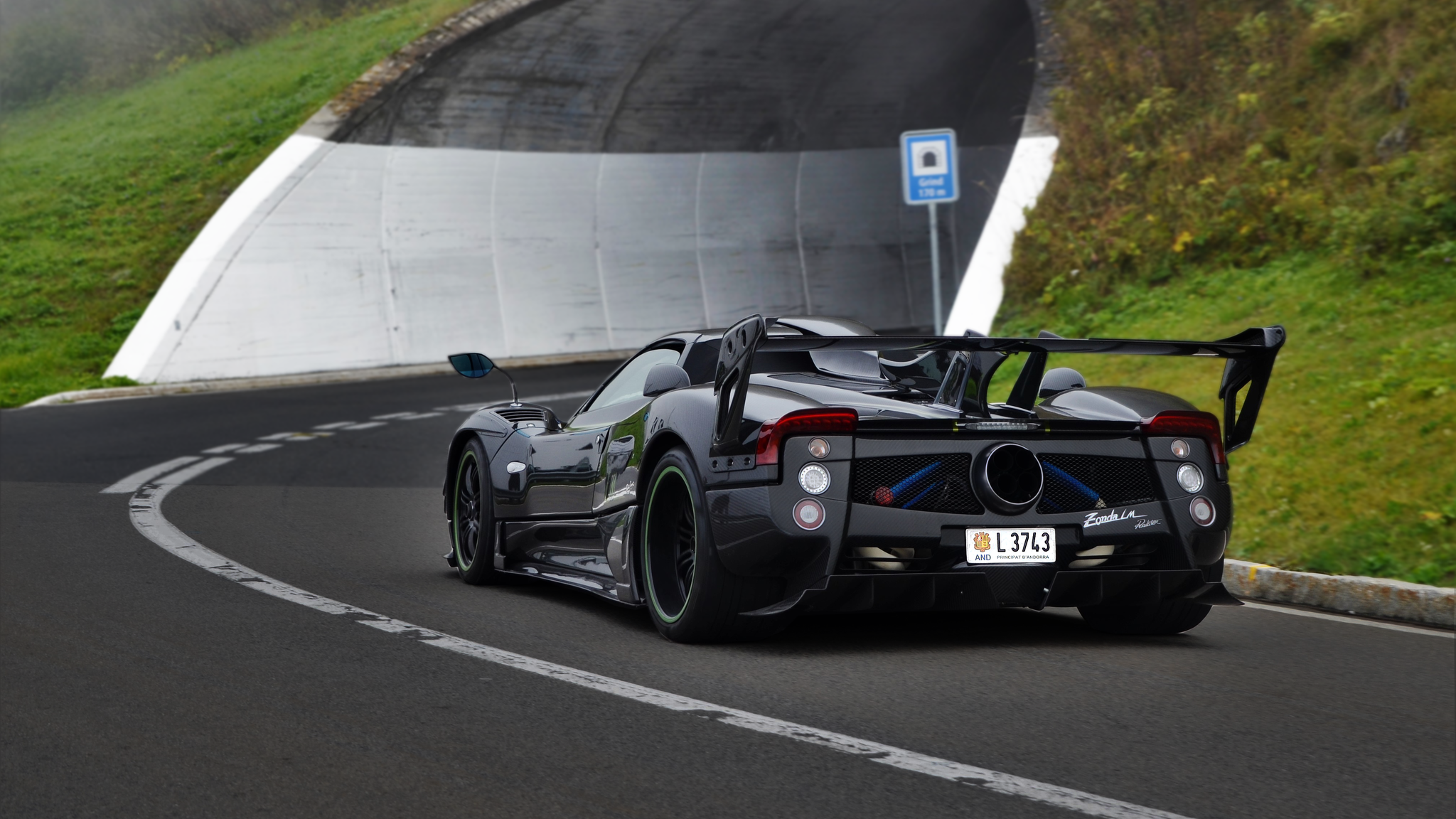 Pagani Zonda LM Roadster - L-3743 (AND)