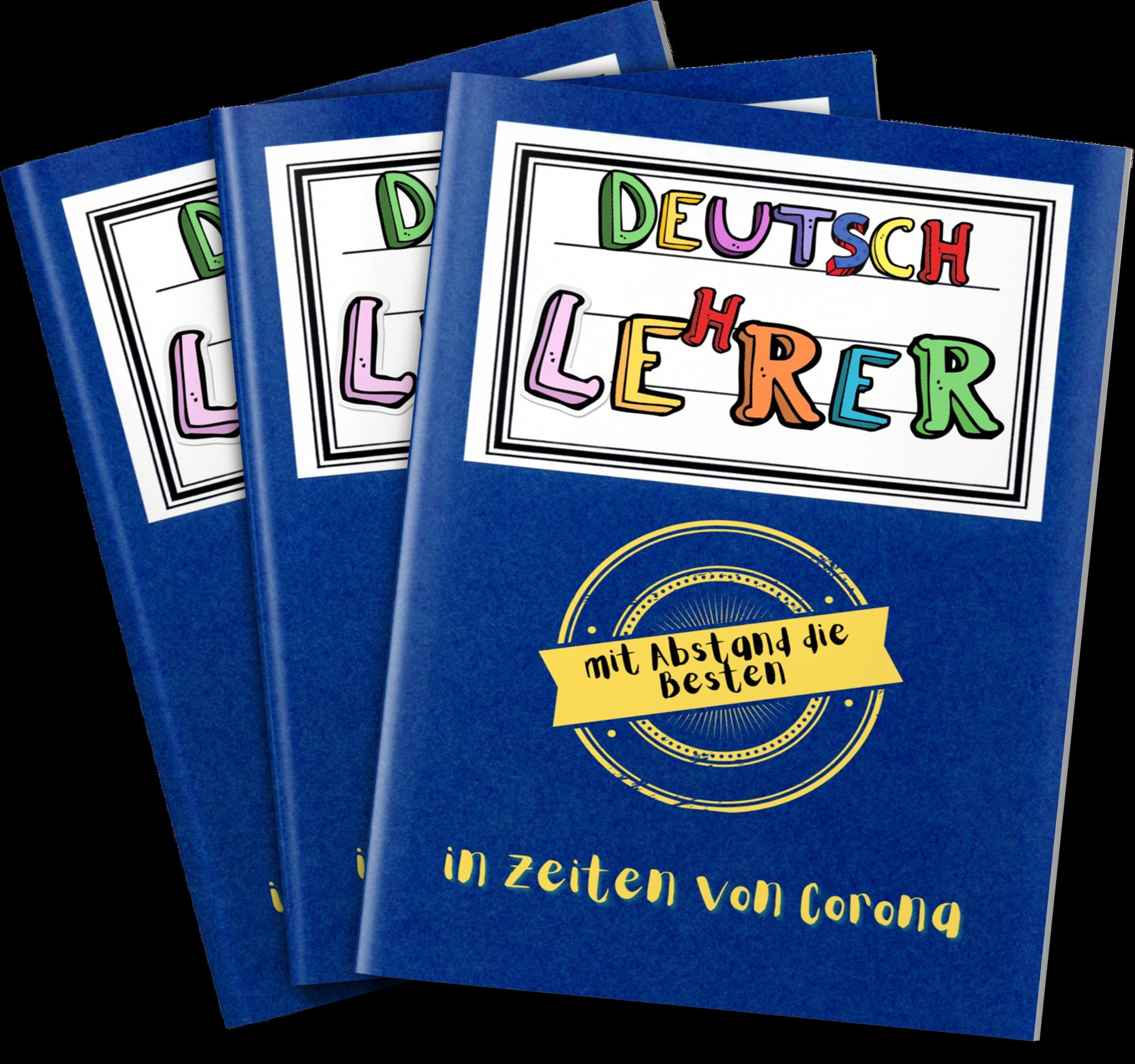 Notizbuch für Lehrer:  Englisch, Deutsch, Mathe, Sport, Musik, Chemie