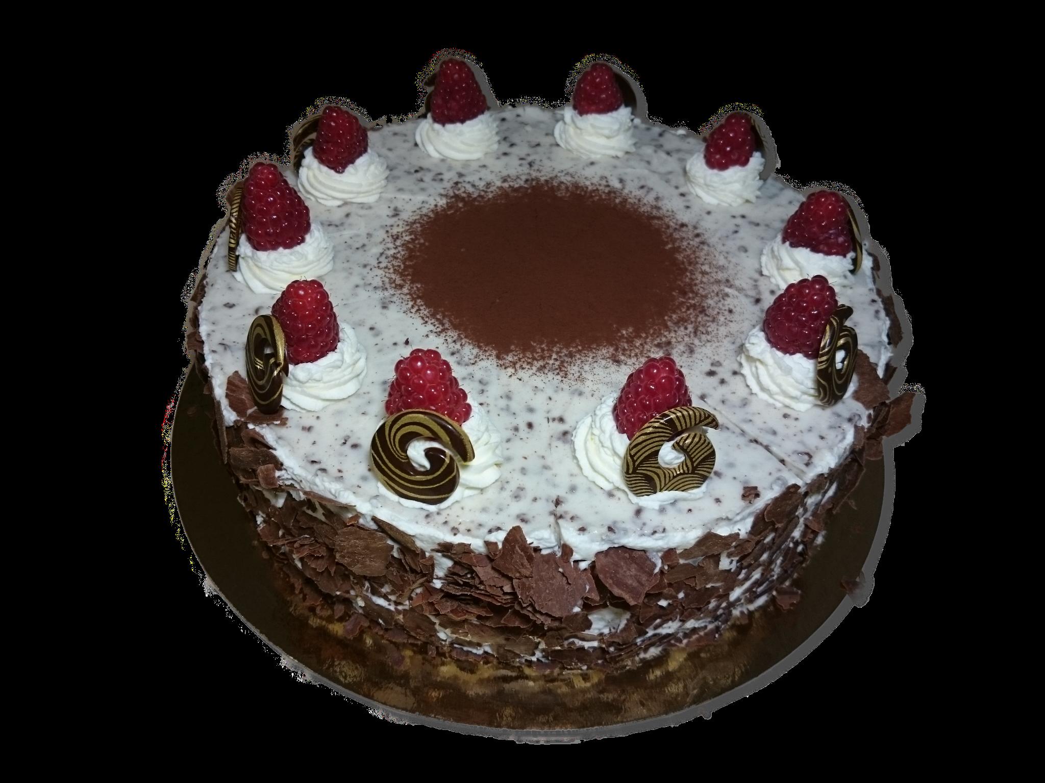 Stracciatella-Joghurt-Torte, 26cm