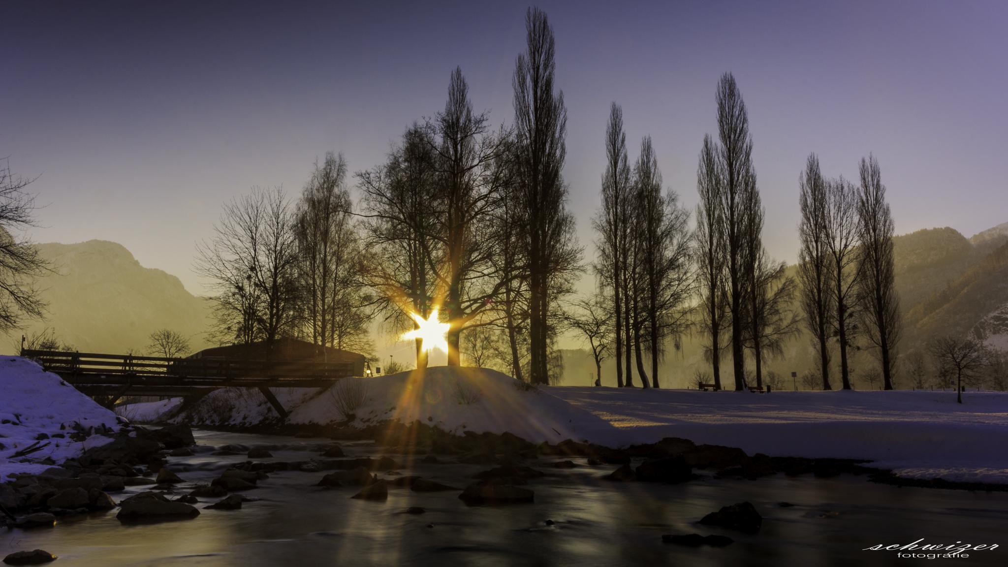 Sunrise am Walensee