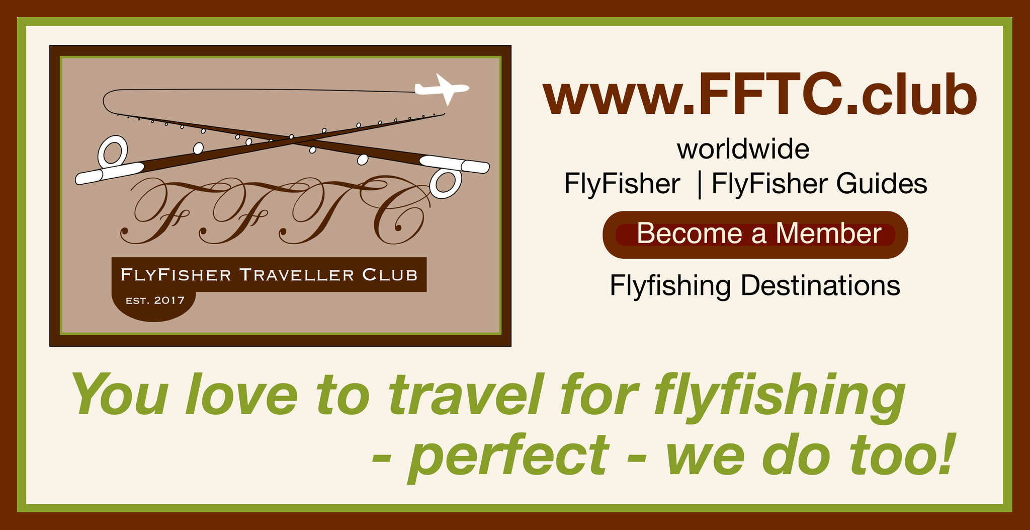 FFTC.club - Fly Fisher Membership - Frontside Flyer 2017!