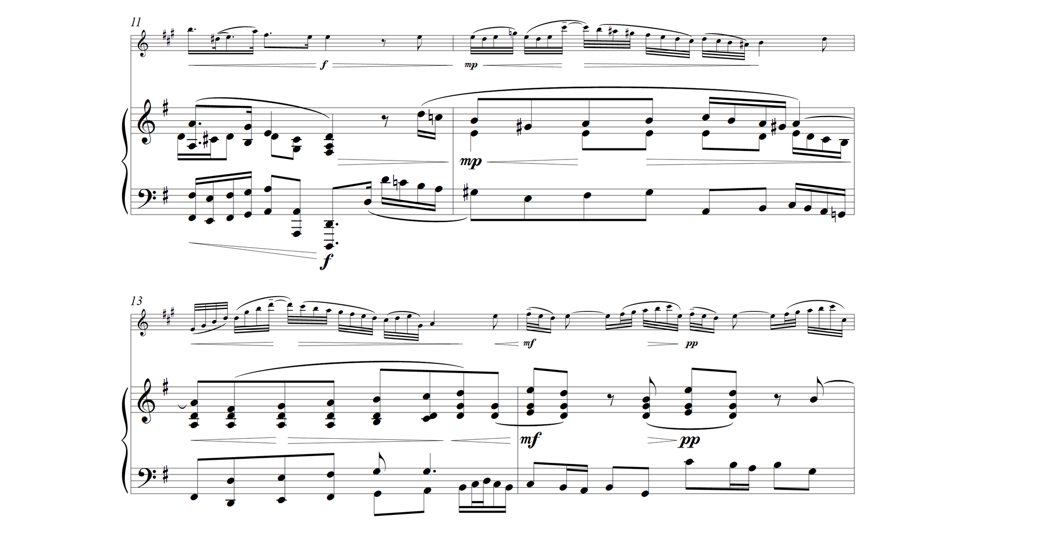 Concerto Fiocco - piano / saxophone ténor
