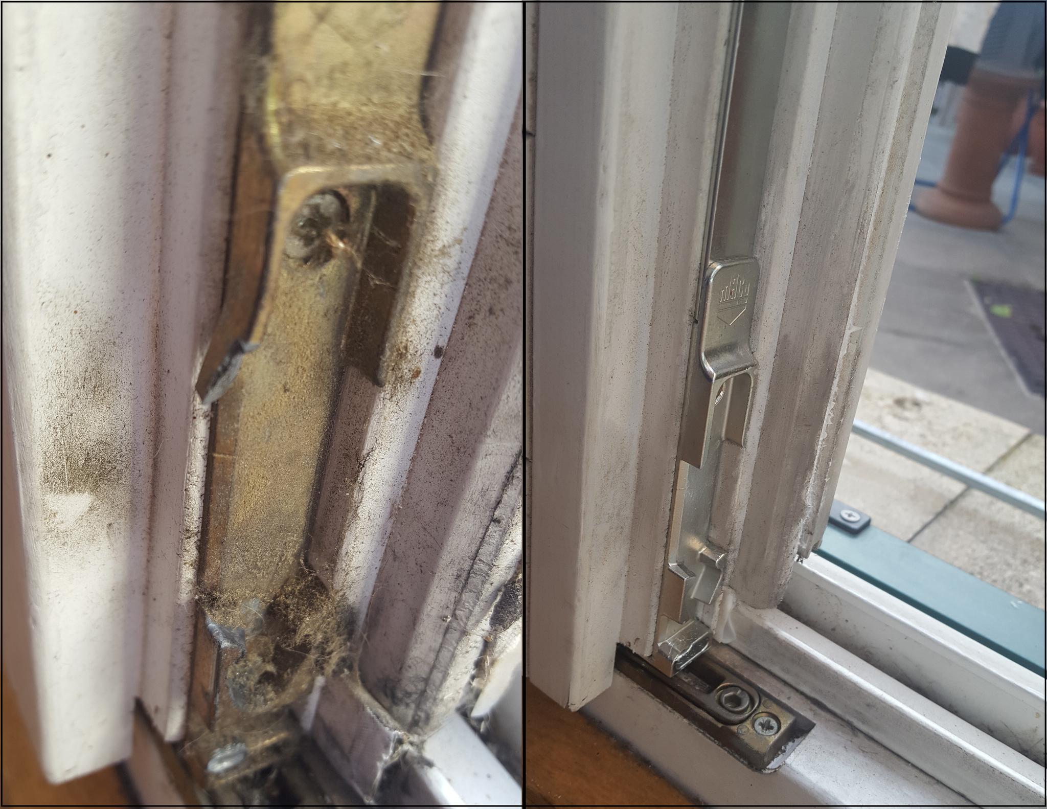 Top Fenster einstellen und reparieren - Tausch von Beschlägen NB18