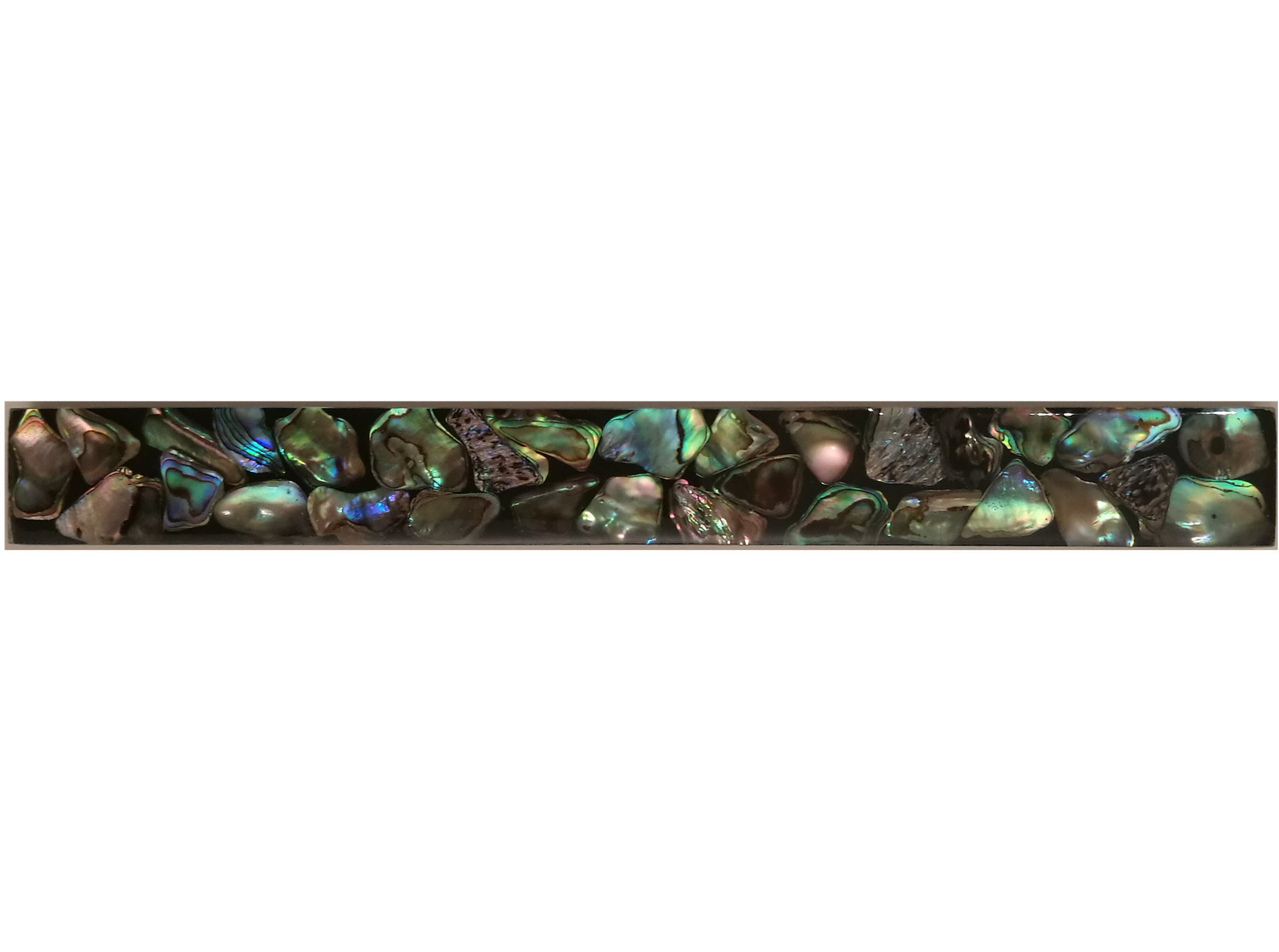 Muschelfliese 20x2,5cm