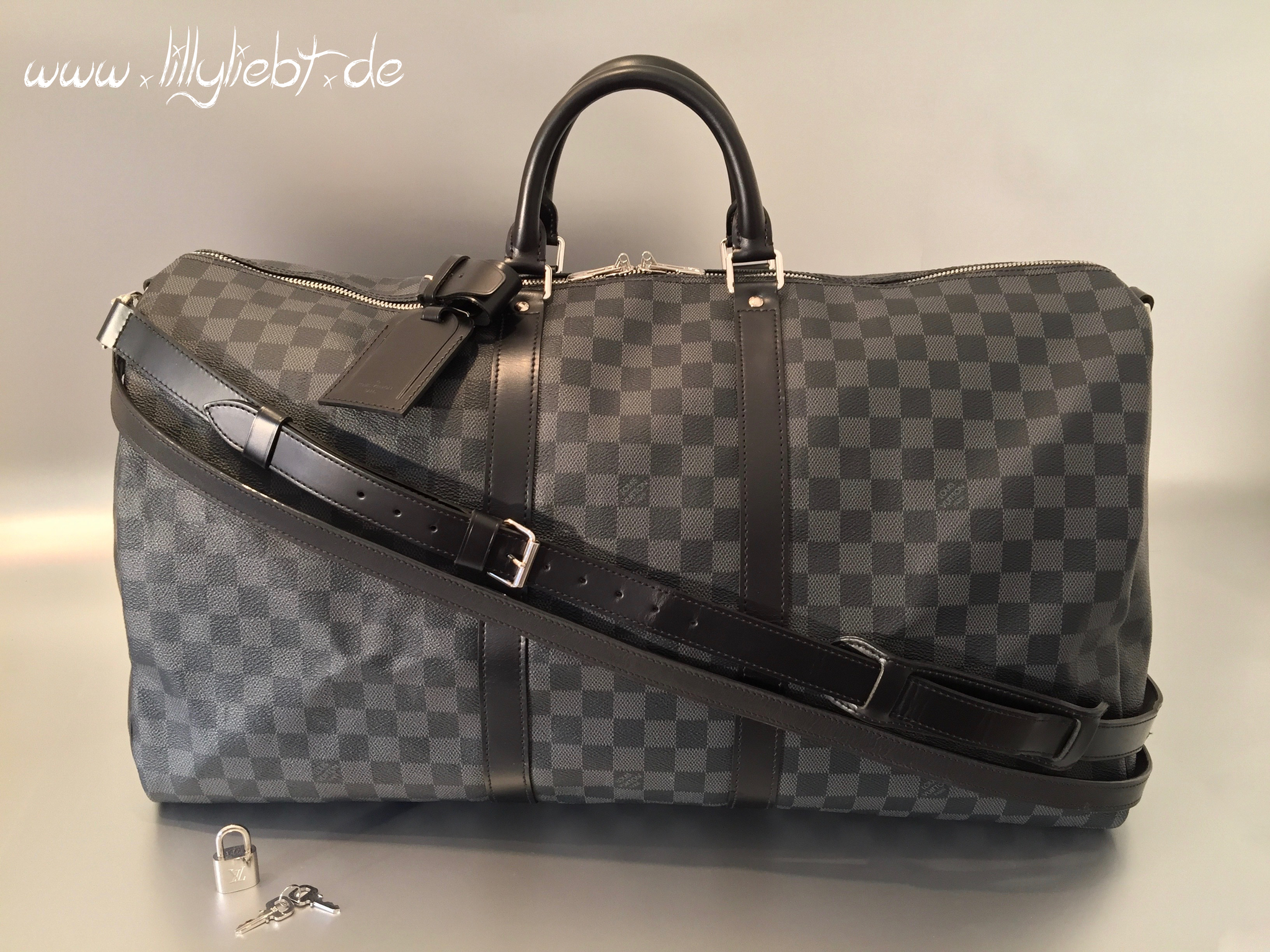 d3fde06a35536 Louis Vuitton Damier Graphite Keepall Bandouliere 55 - Ankauf ...