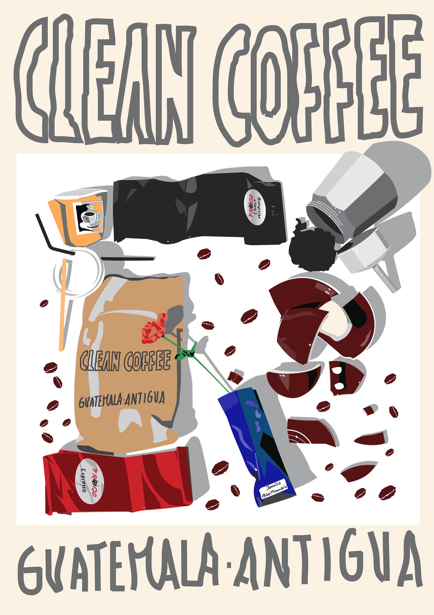 Kaffeemüll © Manfred Fröhlich