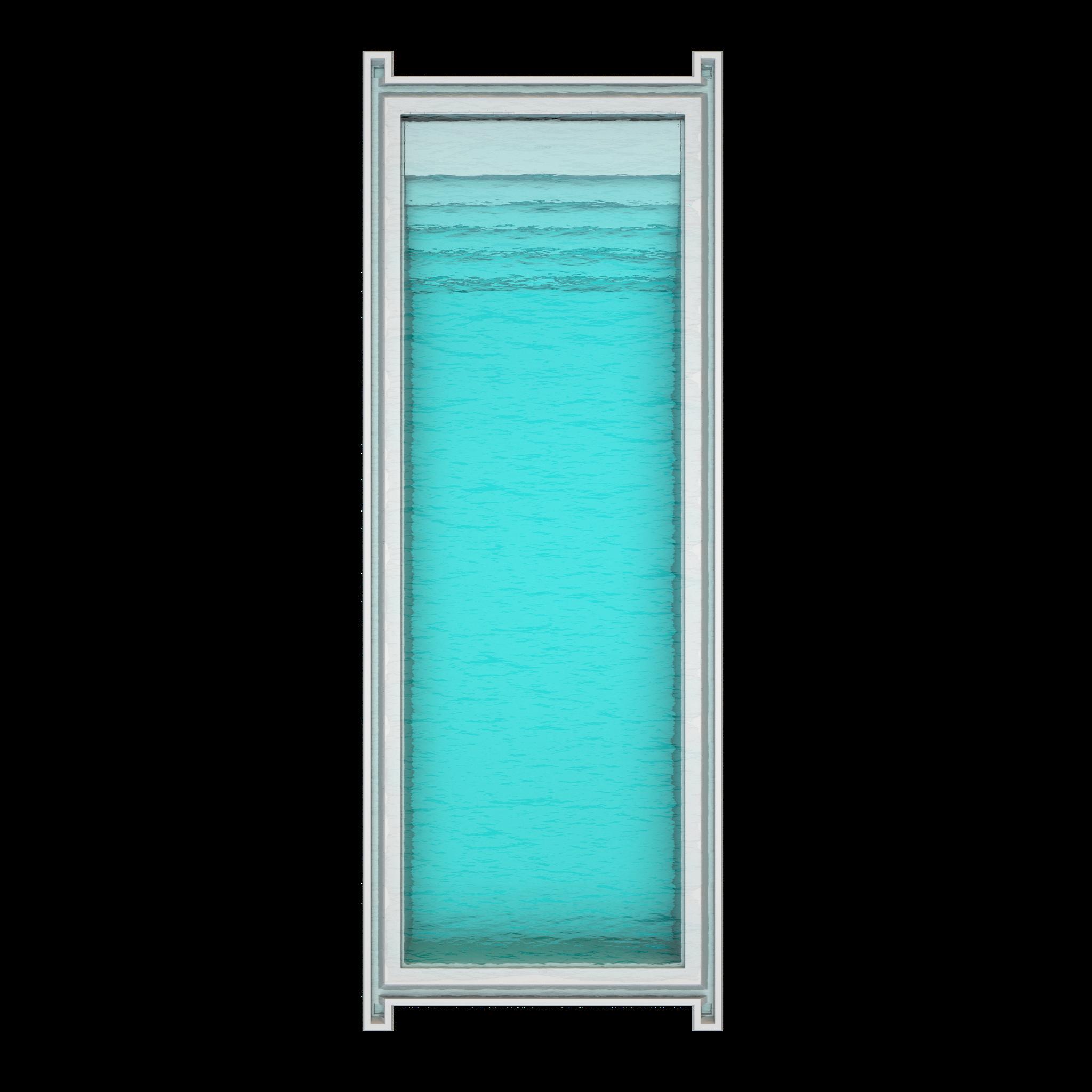 Nexxt 120  Länge : 12m | Breite : 4,10m | Tiefe : 1,60m Inhalt: 70000 liter