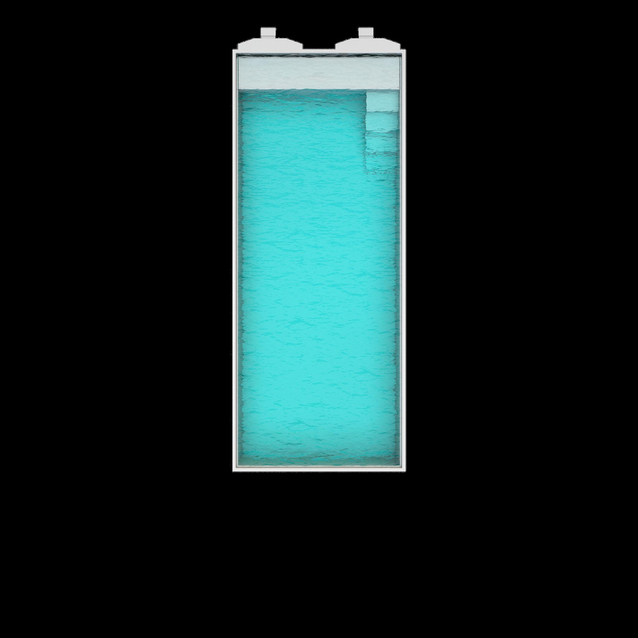 Nova 100  Länge : 10m | Breite : 4,10m | Tiefe : 1,55m Inhalt: 57000 liter