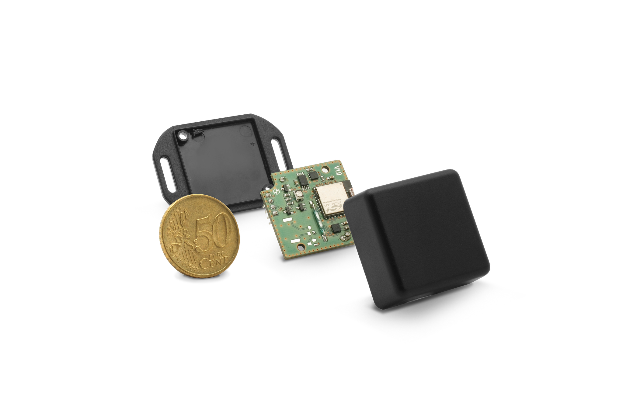 Industrial Smart TAG e.g. for loading equipment and container management, diverse sensors possible