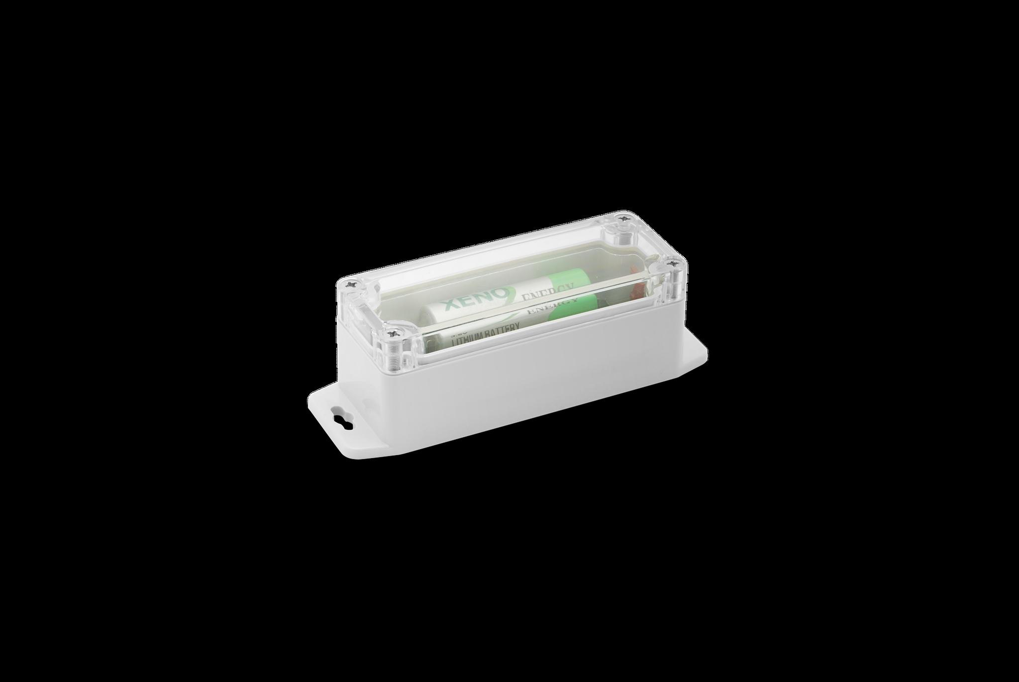 Autonomer Betrieb mit integrierter Batterie und Sensorik bis zu 10 Jahren