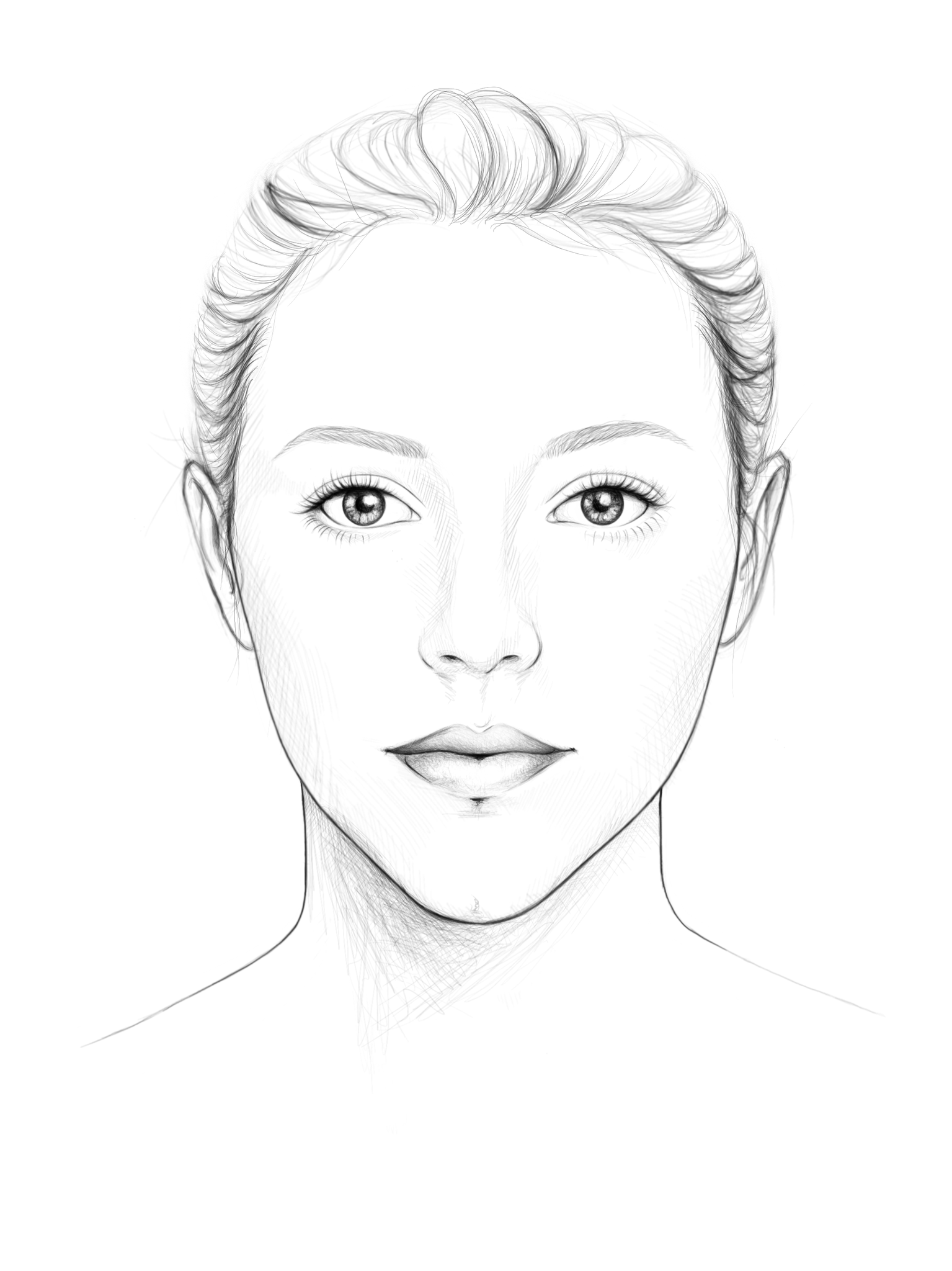 V- förmiges Gesicht