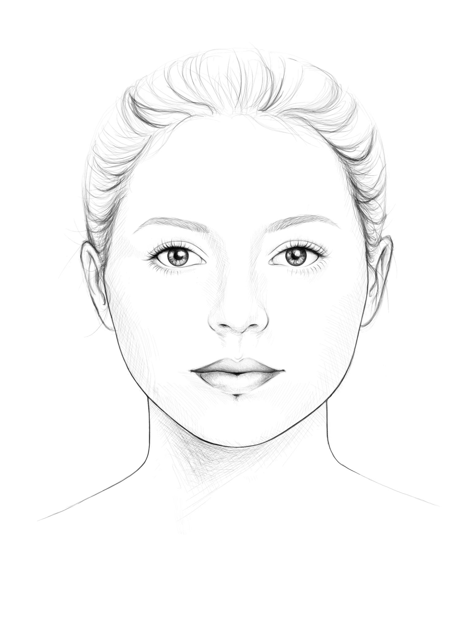 rundes Gesicht