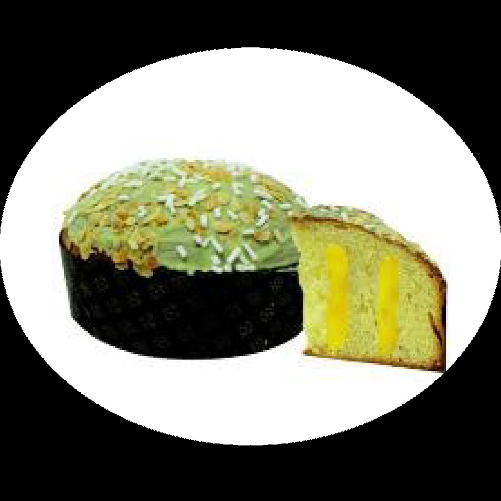 Panettone con crema al limone