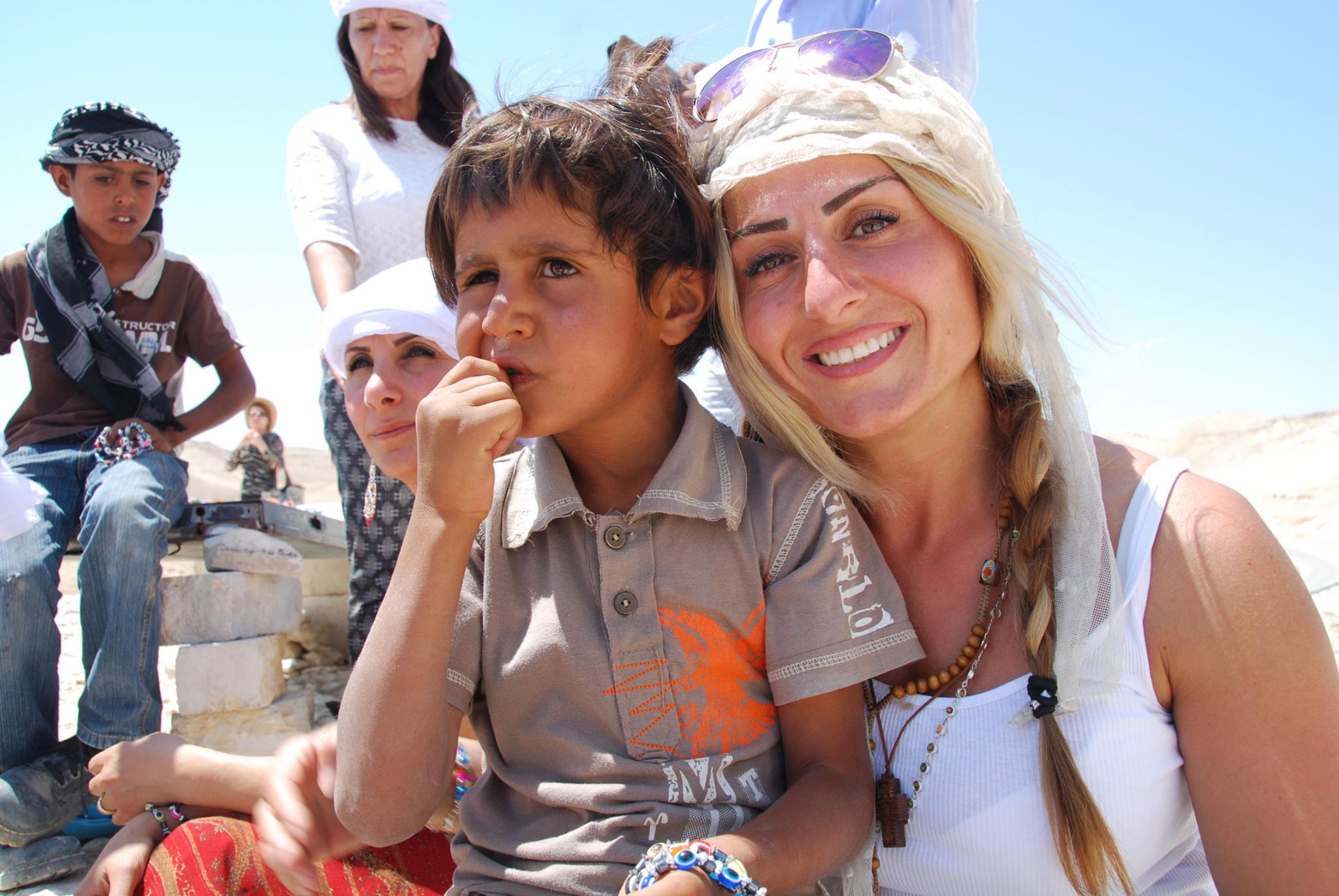 Sevima & Nesrath ein Kleiner Palästinenser der uns mit Schmuck beglückte