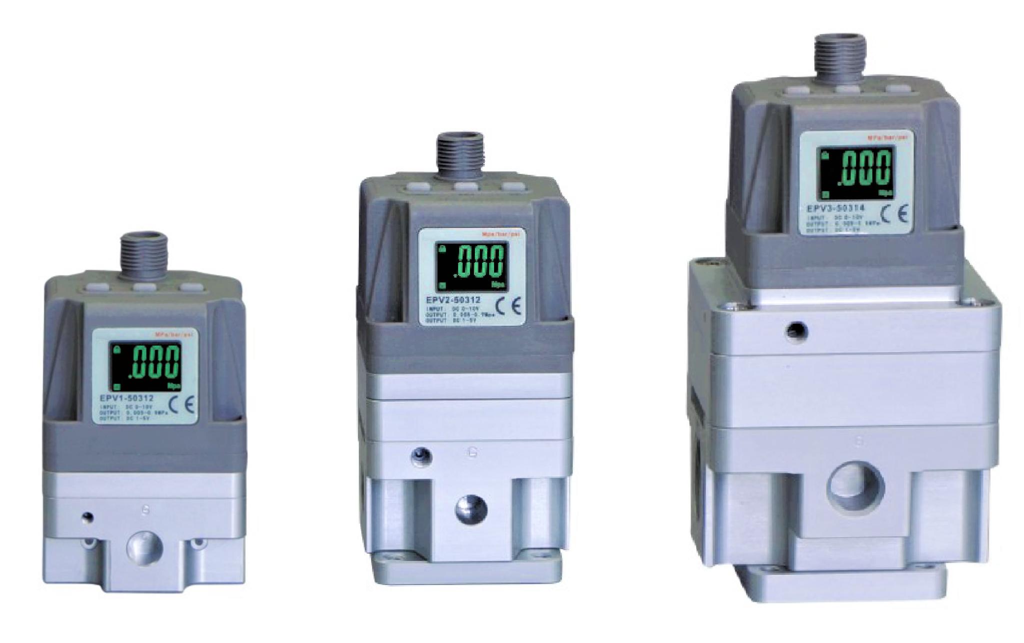 KOMPAUT - Regolatori di pressione proporzionali a controllo elettronico.