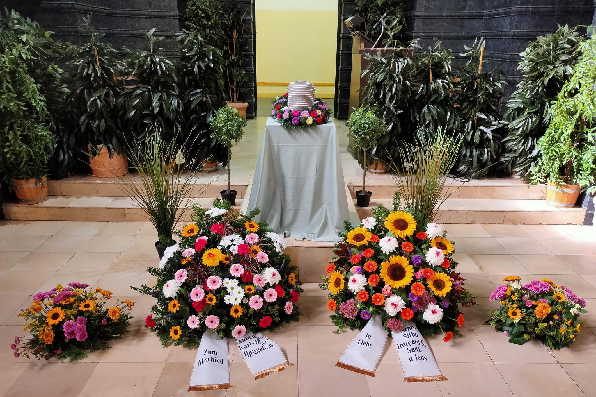 Beerdigung Feuerbestattung