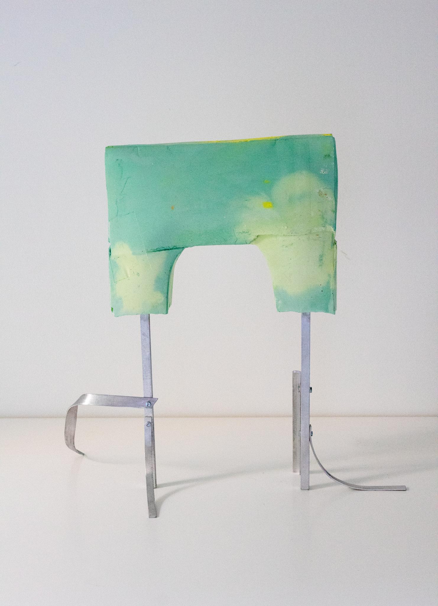 Formschnitt Nr.1_Betonguss, Pigment, Aluminium_31 x 32 x 17 cm_2018