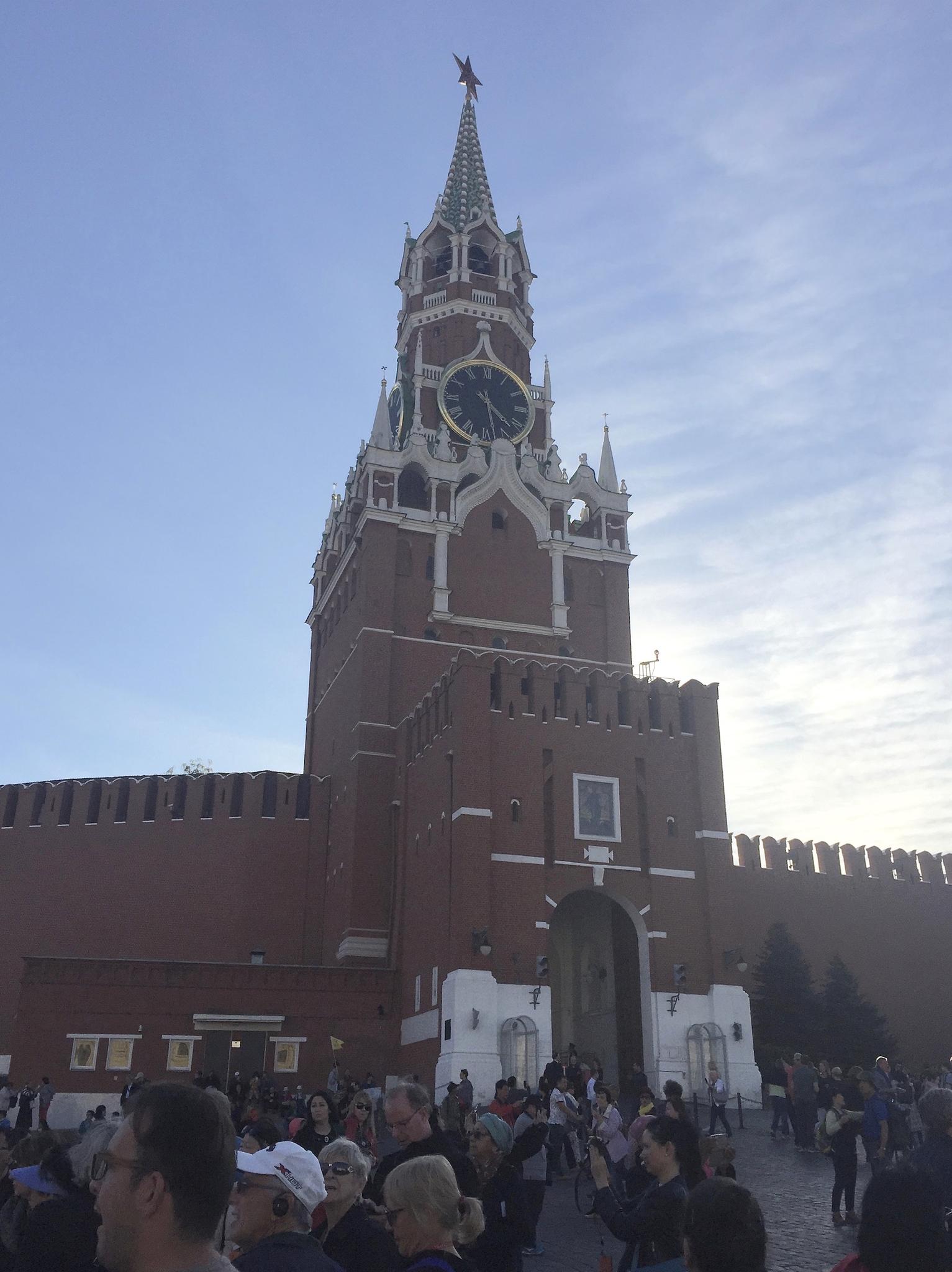 Inside the Kremlin in Moscow