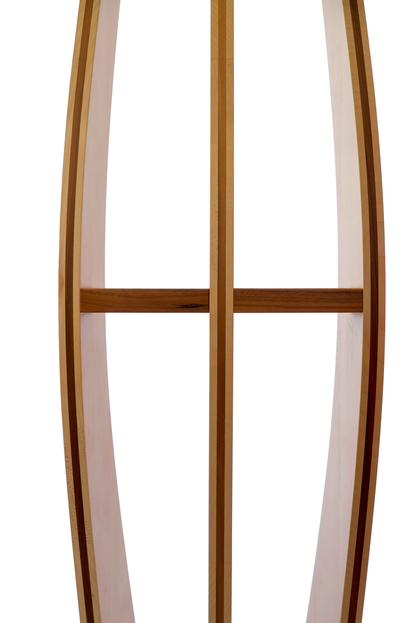 Stehleuchte Holz Rückseite
