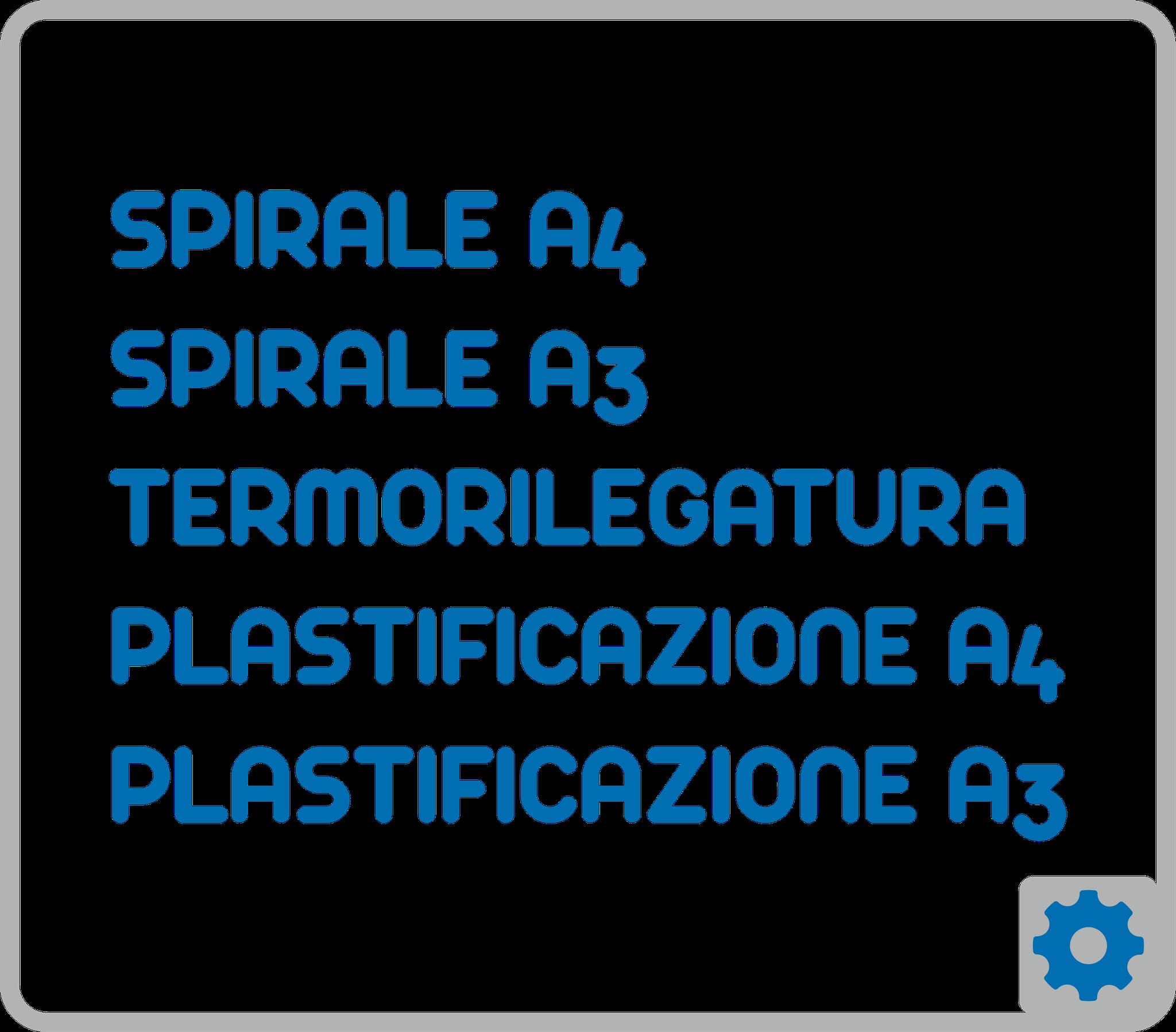 TERMORILEGATURE - PLASTIFICAZIONI