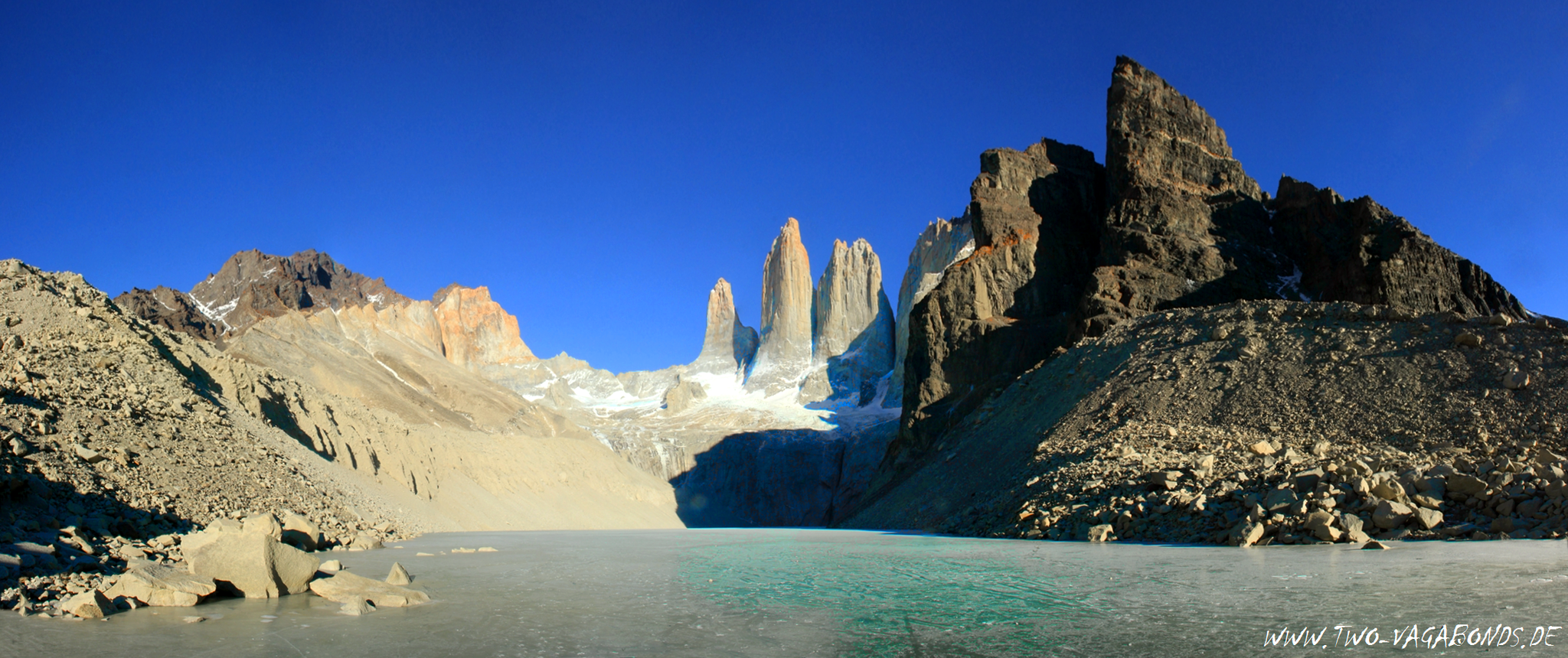 CHILE 2016 - PATAGONIEN - TORRES DEL PAINE NP - TORRES LOOKOUT