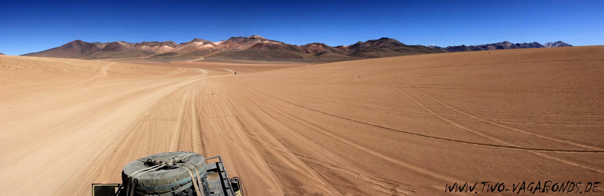 BOLIVIEN 2015 - LAGUNENROUTE