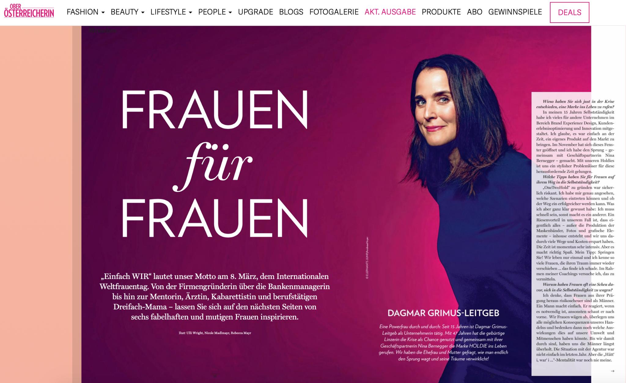 Die Oberösterreicherin | 5th of March 2021