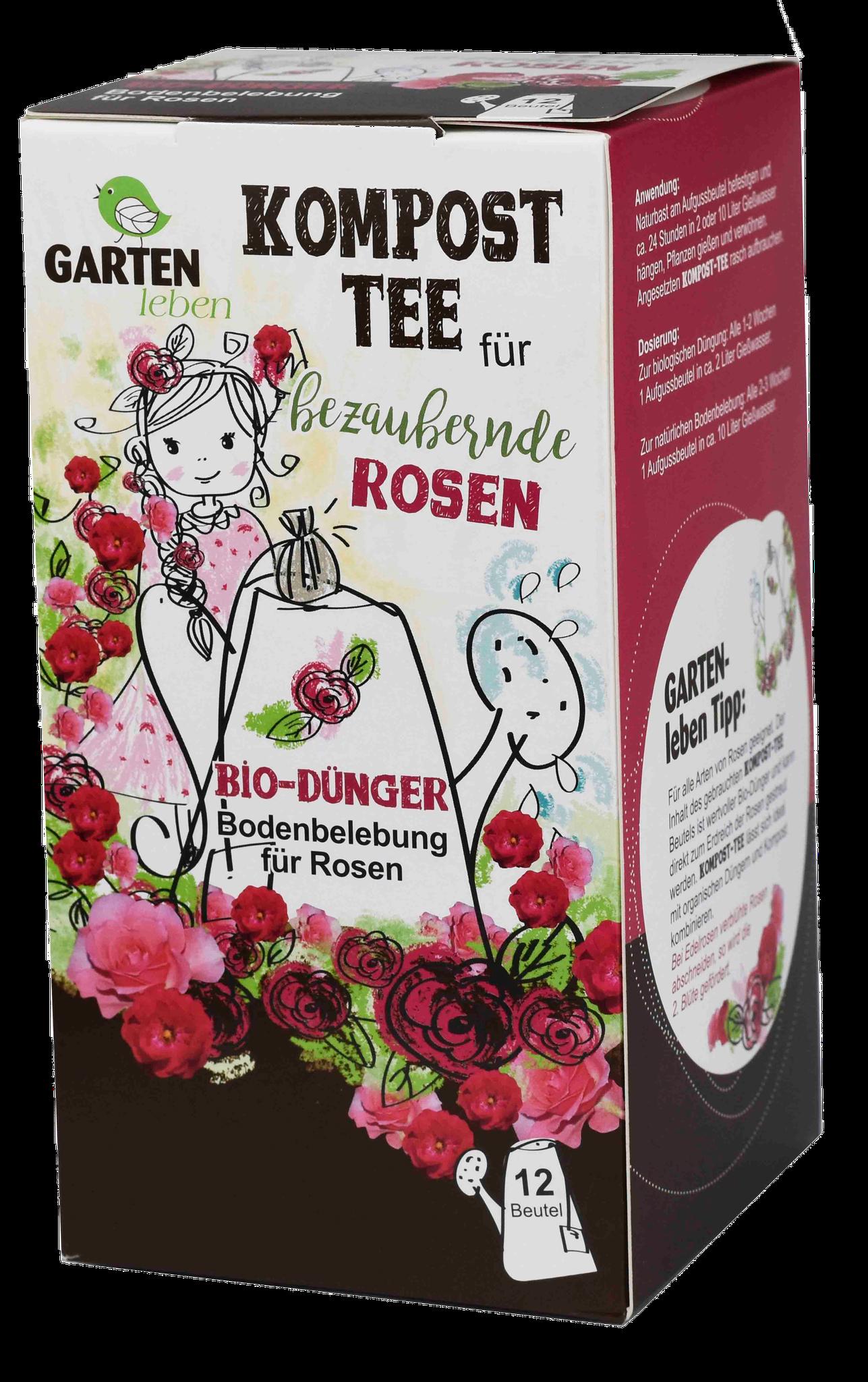 für Rosen im Innen- und Außenbereich