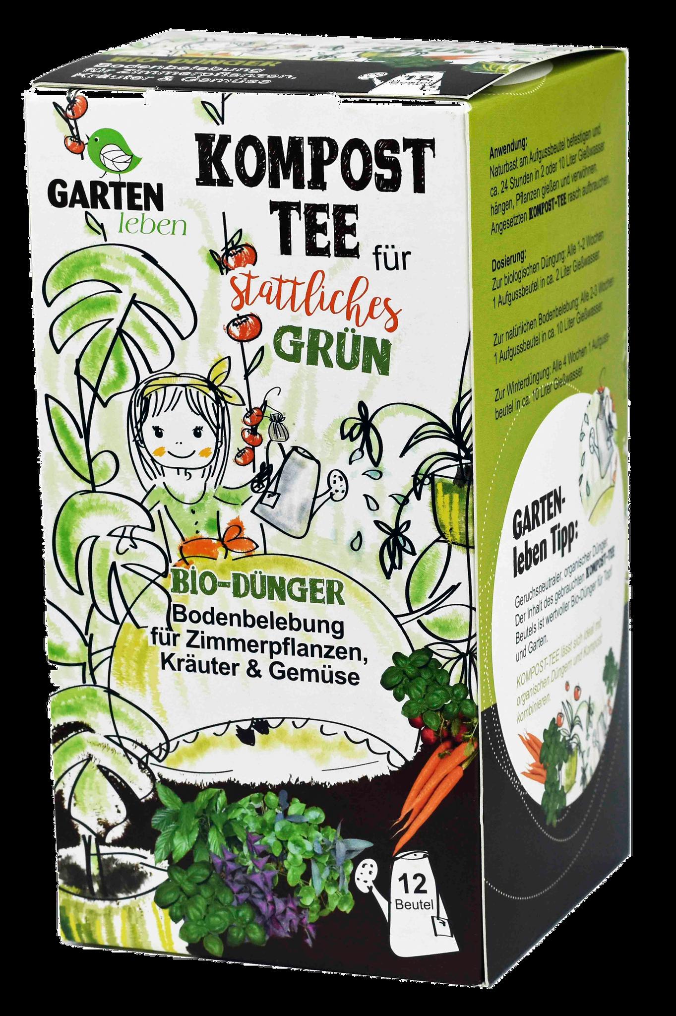 für Grünpflanzen im Innen- und Außenbereich, Kräuter und Gemüse