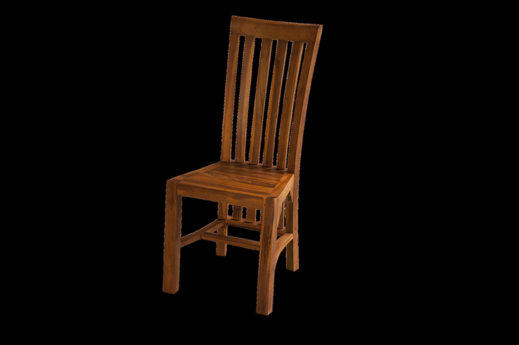 Stuhl zu Esstisch-Set > massiv Teak