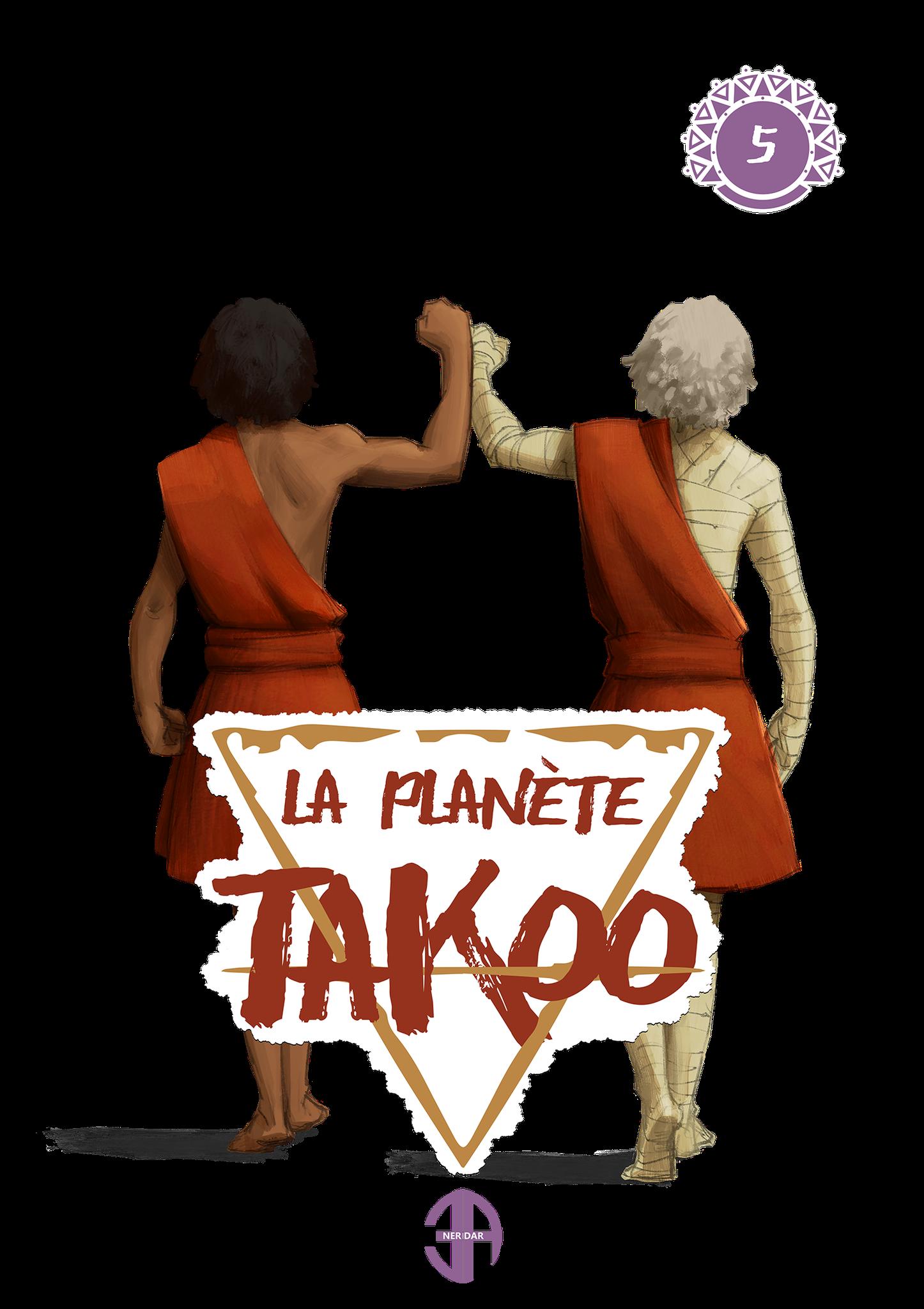 T-Shirt Thioro et Thayek devant la Din