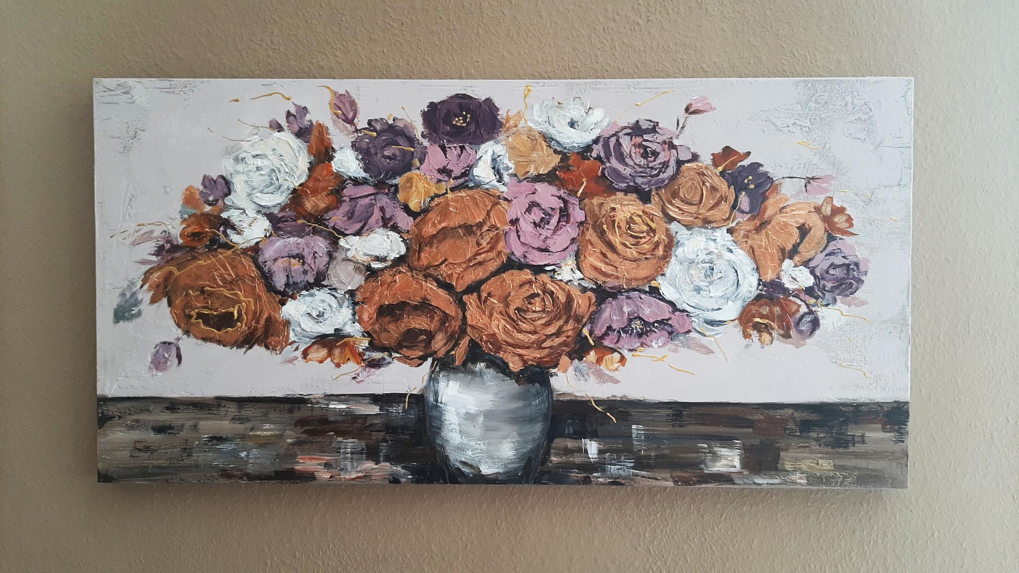 Stillleben Blumen in Vase, Maria Müller