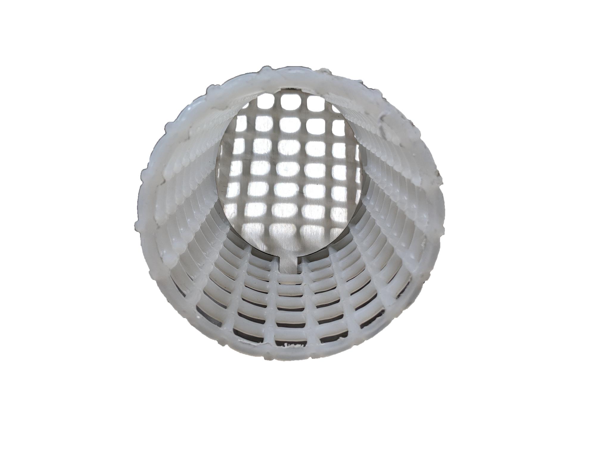 Umlenkblech für Kunststoff Filtersiebrohr 110mm