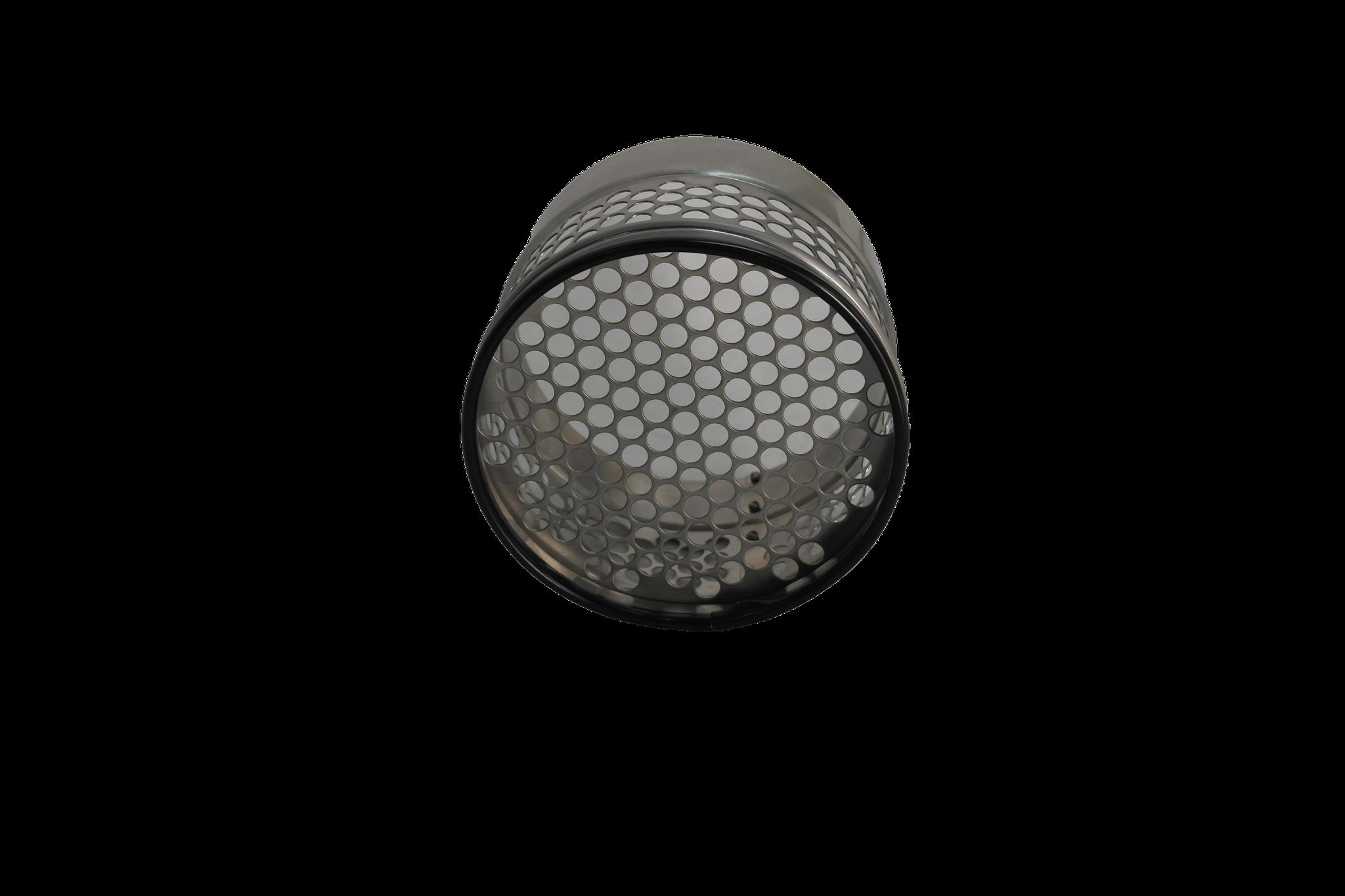 Siebrohr für 160er KG Rohr (DN 150) für den Zulauf