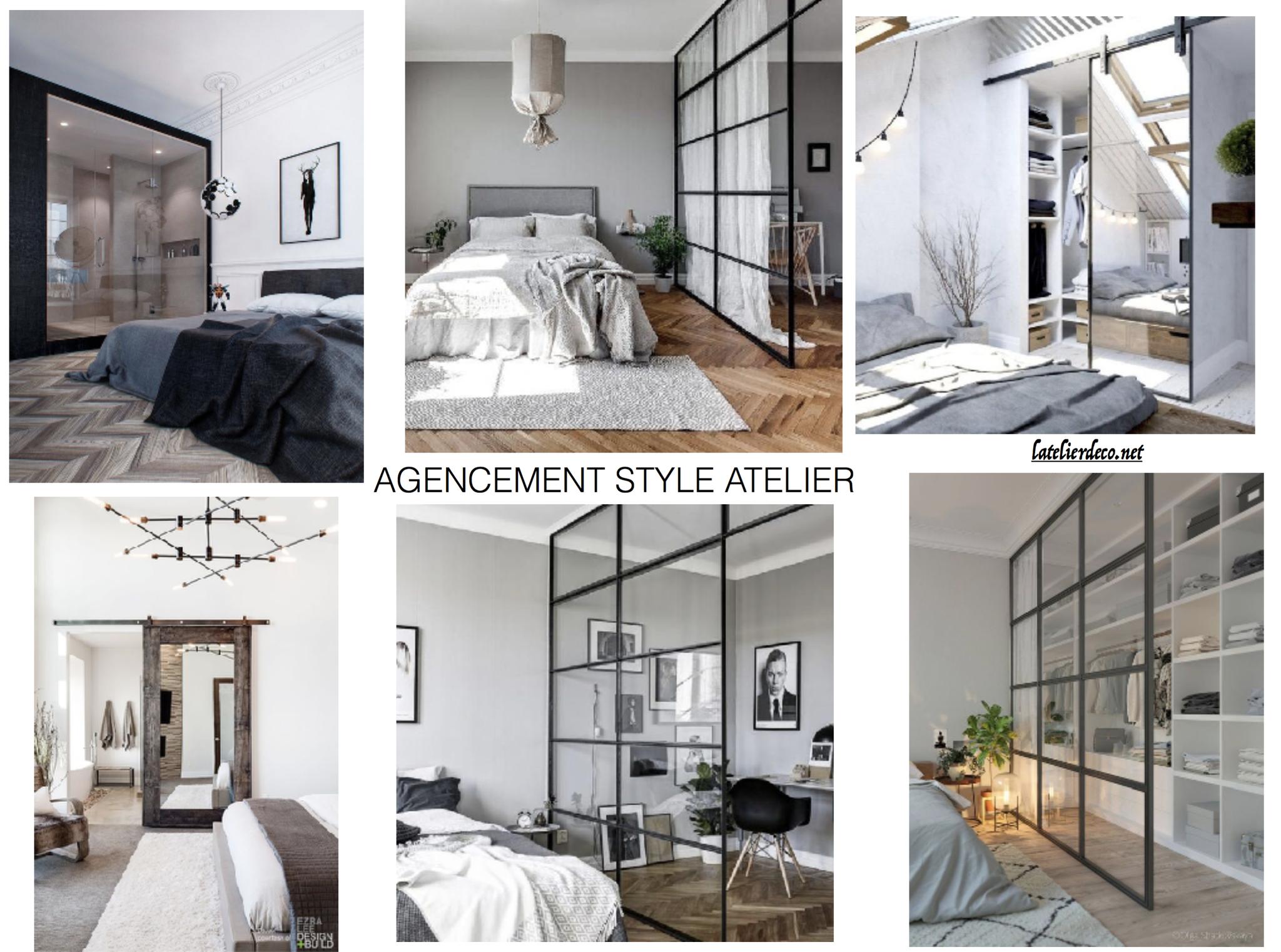 Papier Peint Style Atelier dÉcoration d'intÉrieur - site de latelierdecobykb !